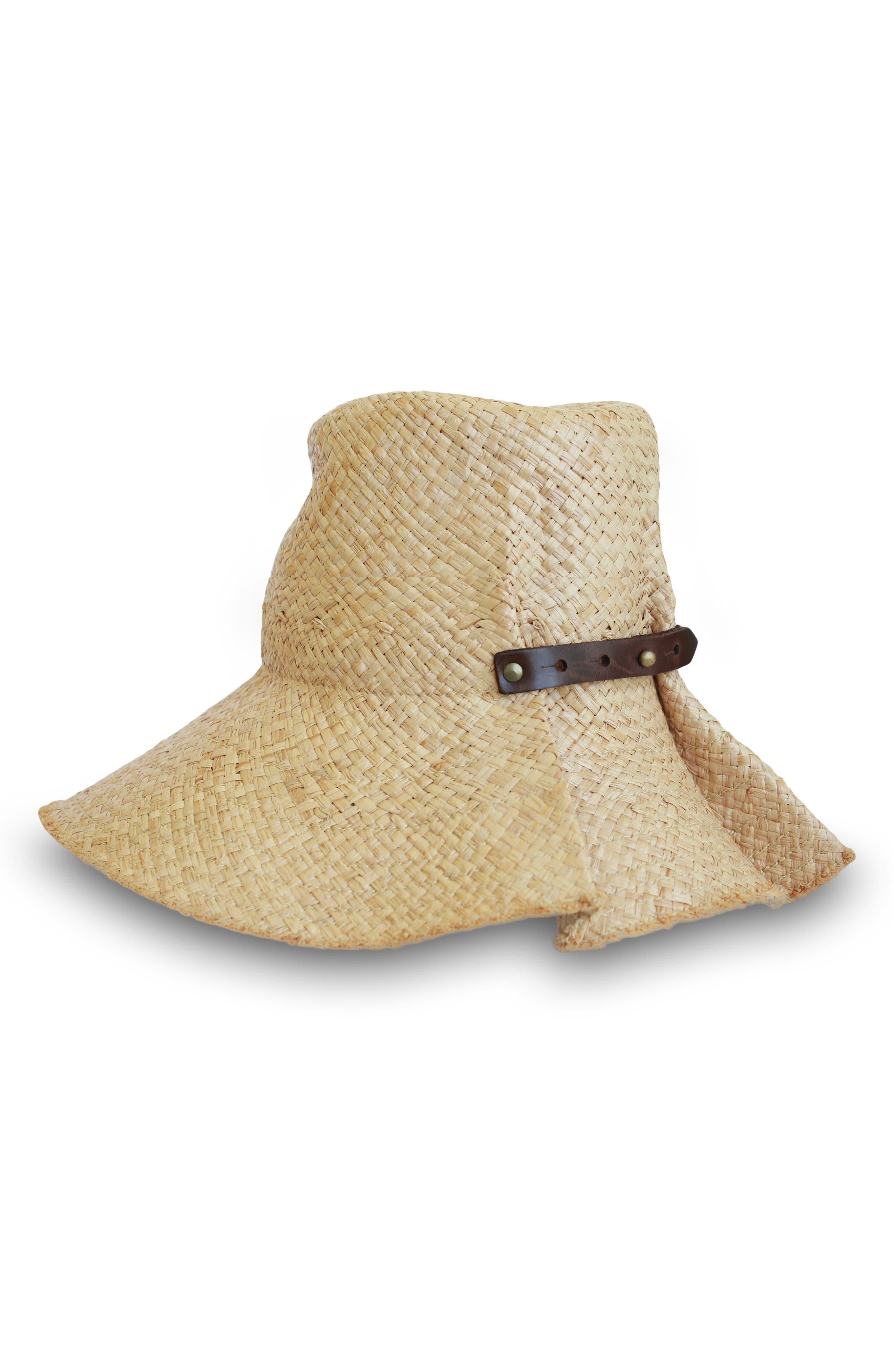 Commando Raffia Hat,                         Main,                         color, 250
