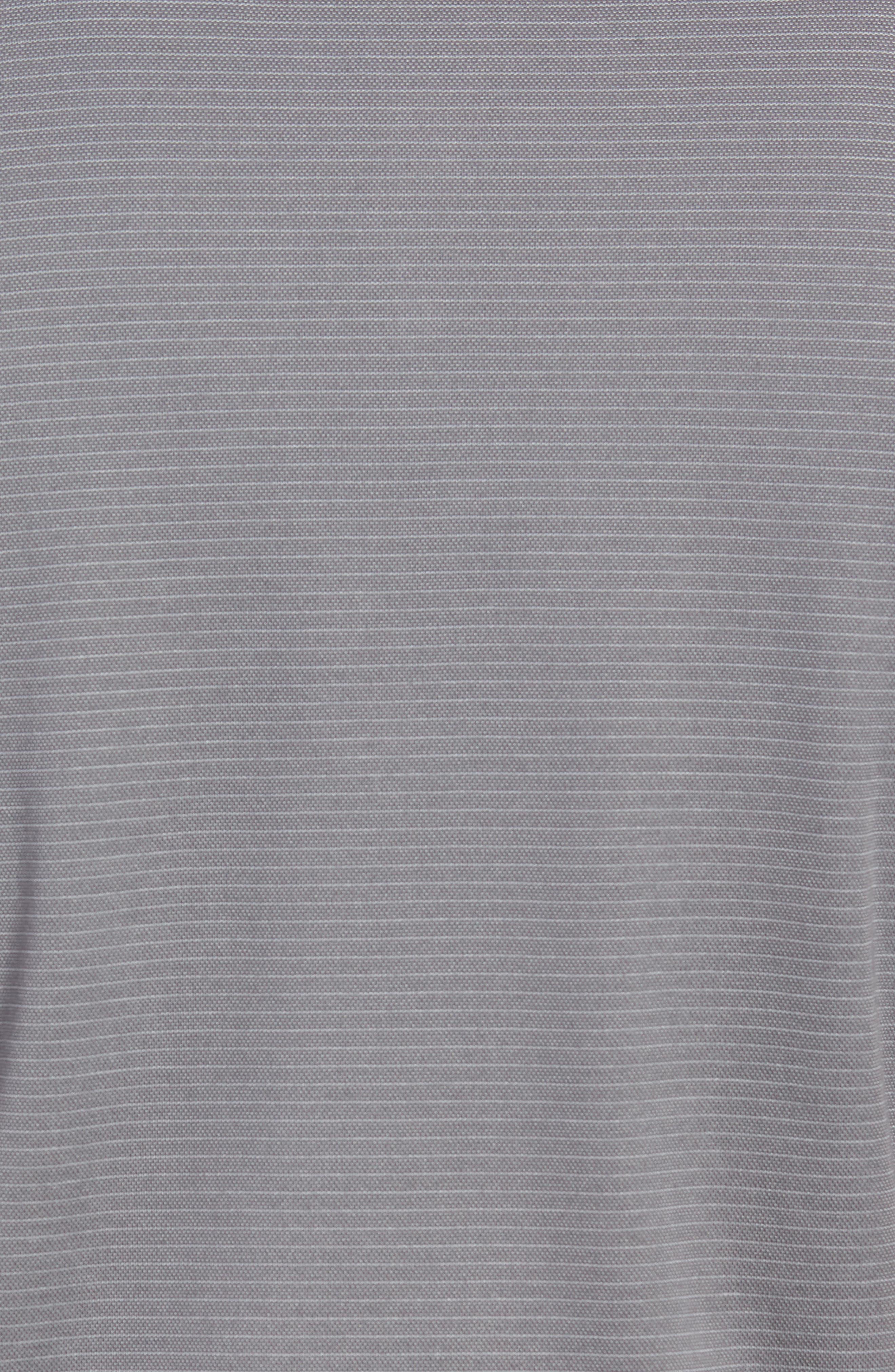 Watty Stripe Cotton Blend Polo,                             Alternate thumbnail 5, color,                             020
