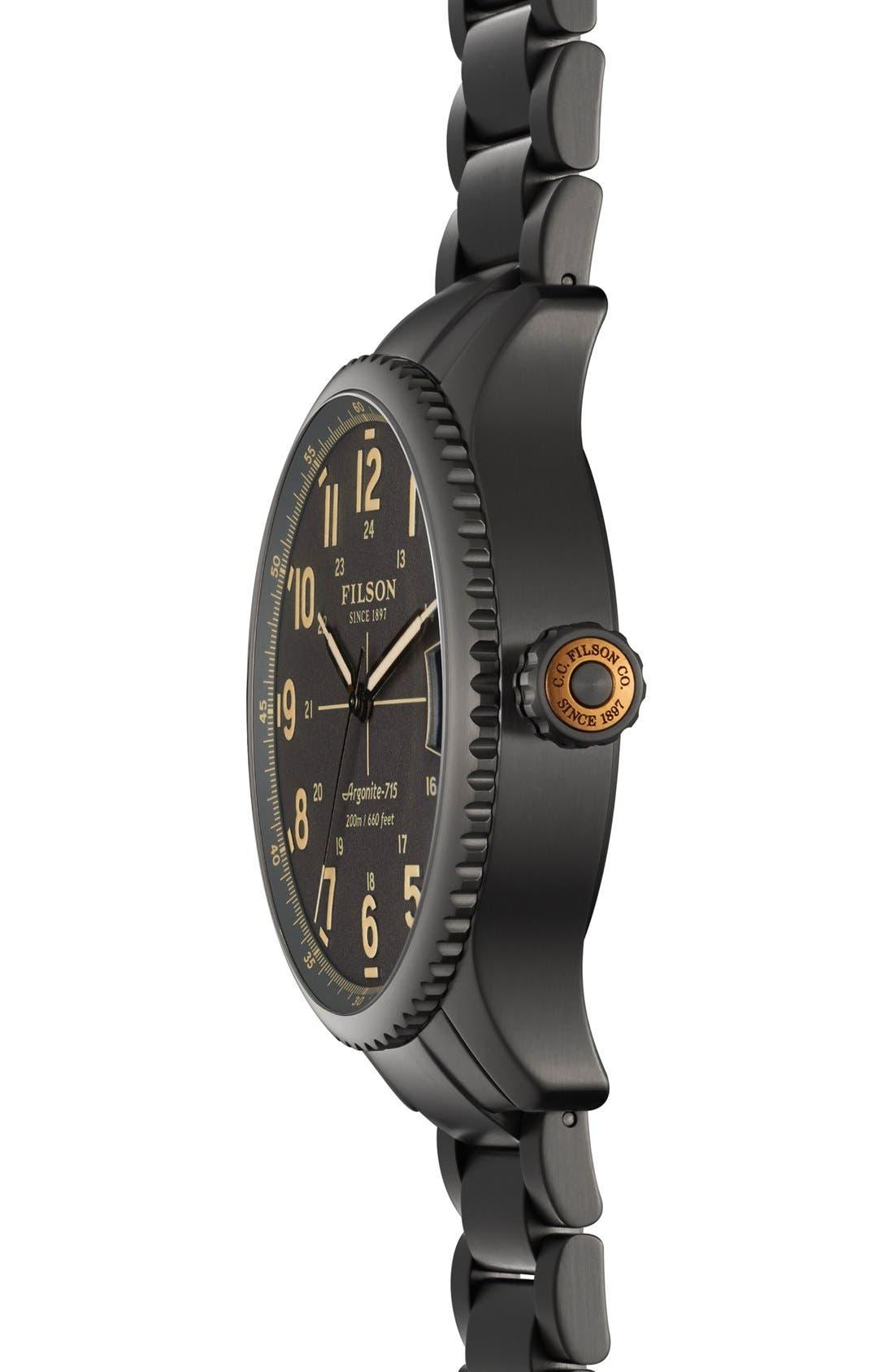 'The Mackinaw Field' Bracelet Watch, 43mm,                             Alternate thumbnail 2, color,                             020
