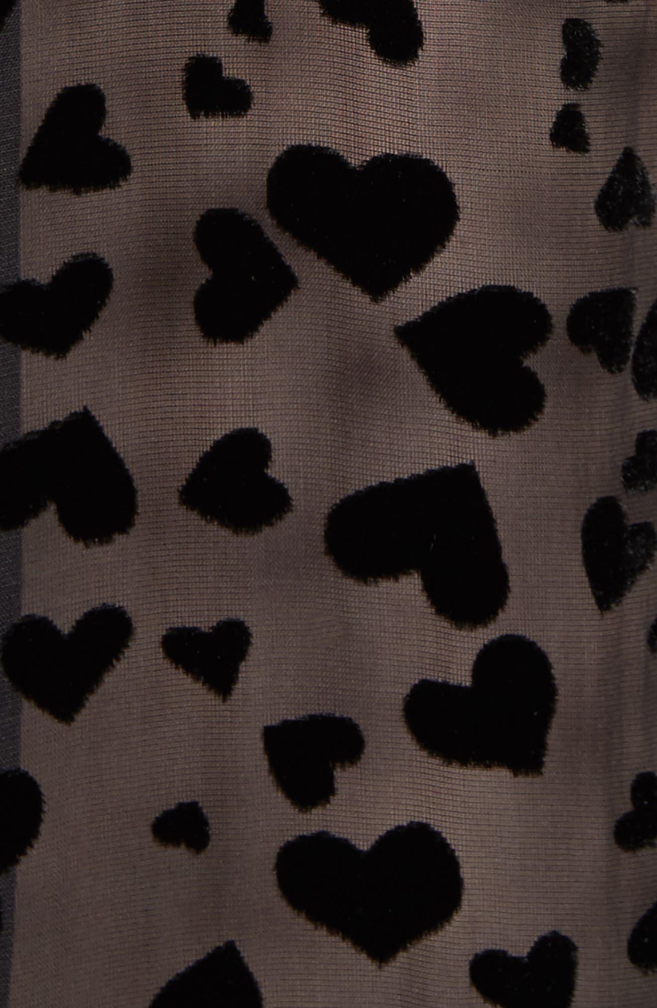 Essential Velvet Burnout Shirt,                             Alternate thumbnail 5, color,