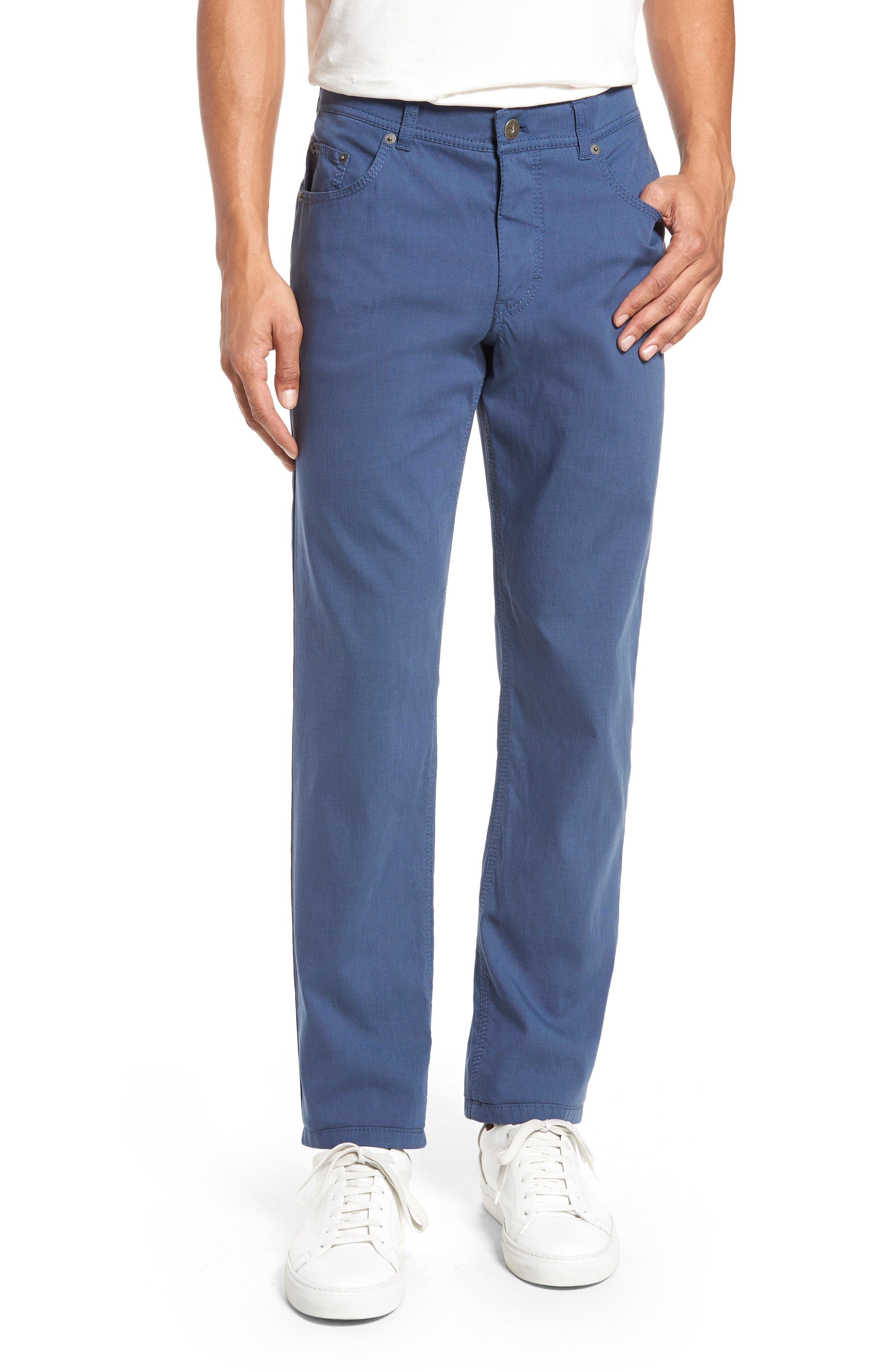 Sensation Stretch Trousers,                         Main,                         color, BLUE