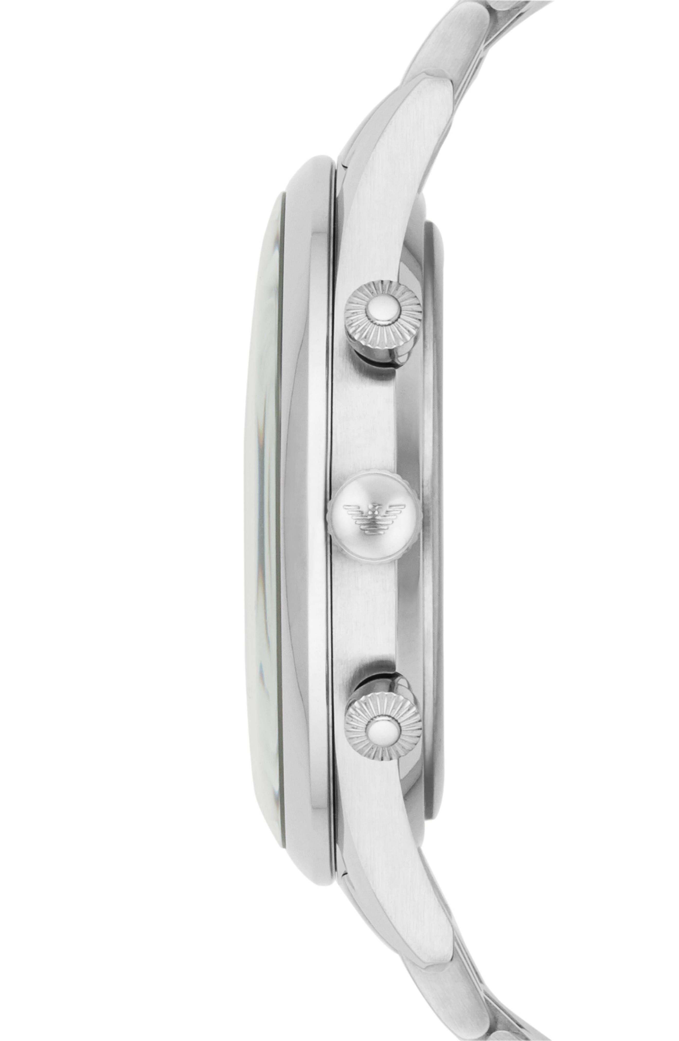 Chronograph Bracelet Watch, 43mm,                             Alternate thumbnail 2, color,                             040