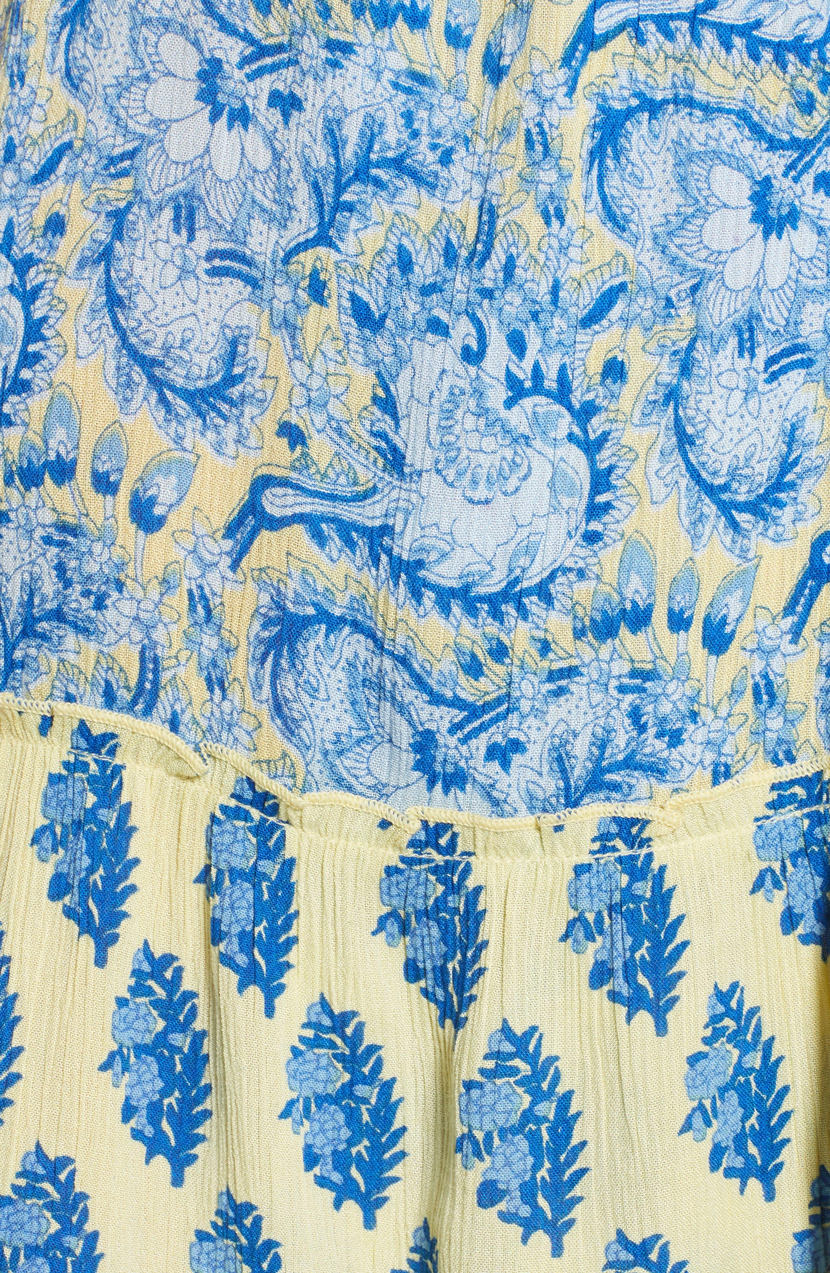 Sunlit Daze Minidress,                             Alternate thumbnail 6, color,                             700