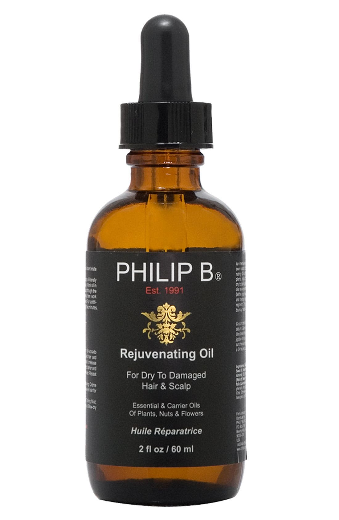 SPACE.NK.apothecary PHILIP B<sup>®</sup> Rejuvenating Oil,                             Main thumbnail 1, color,                             NO COLOR
