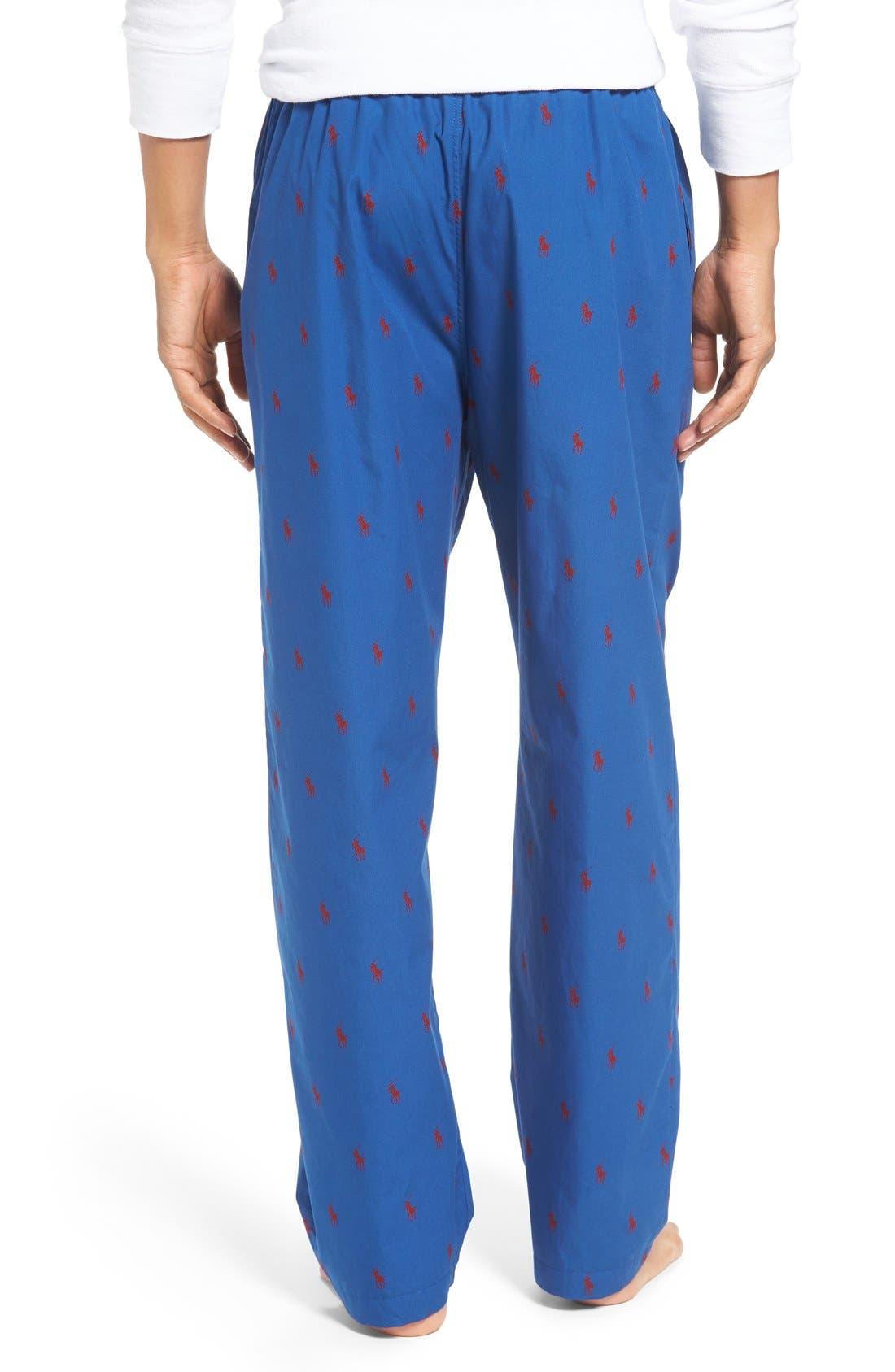 Cotton Lounge Pants,                             Alternate thumbnail 21, color,
