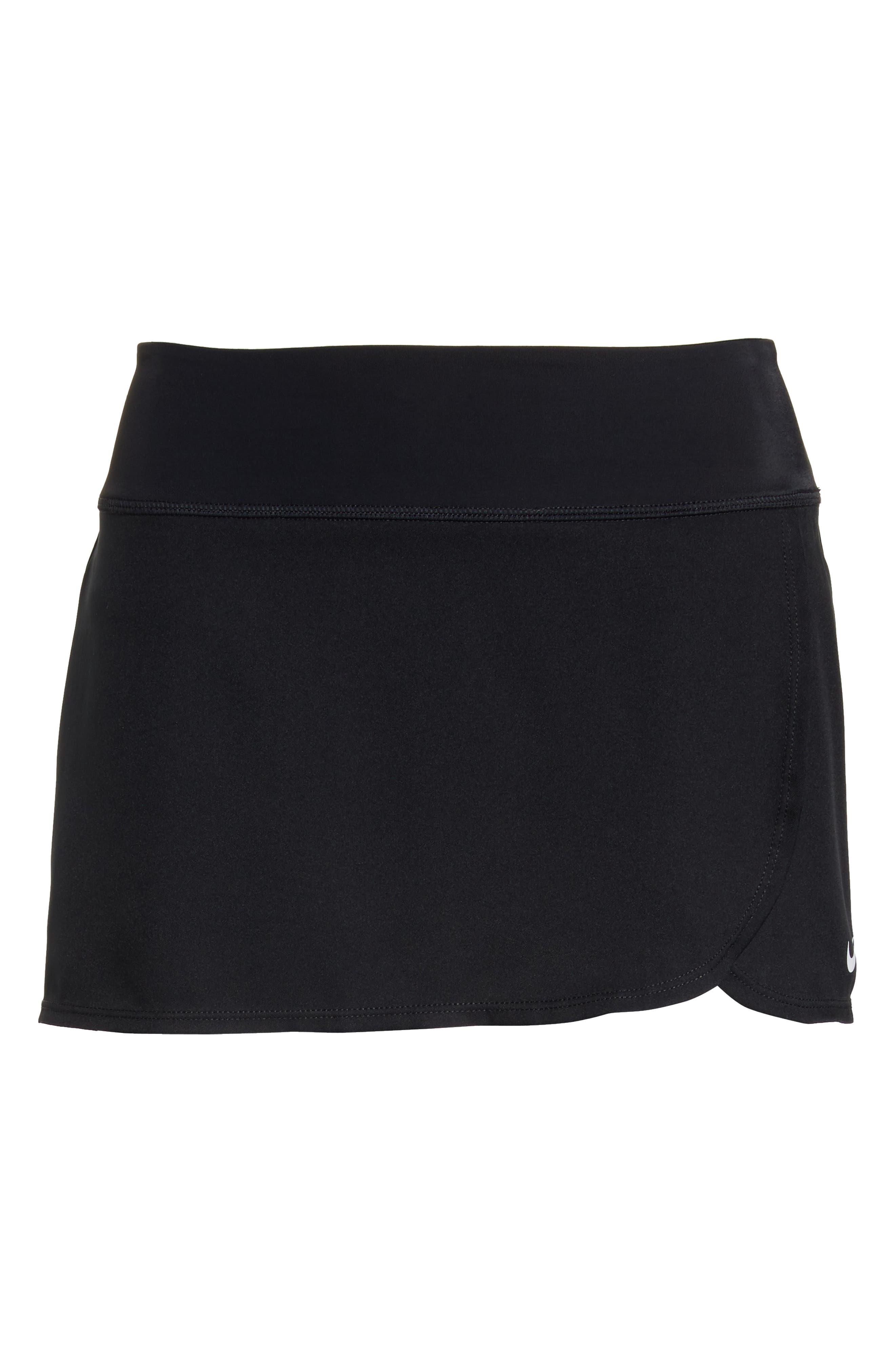 Swim Board Skirt,                             Alternate thumbnail 6, color,                             BLACK