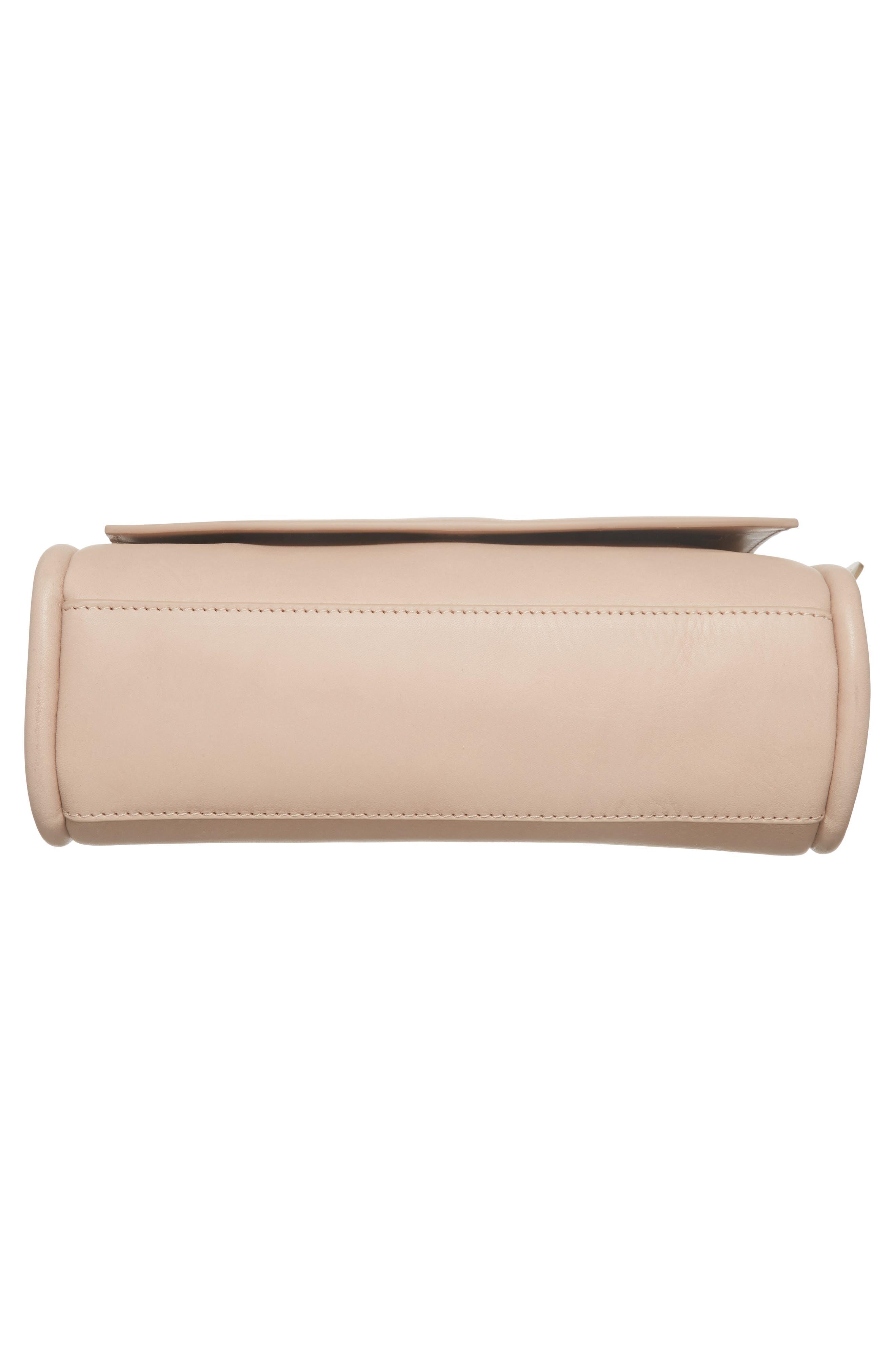 Sylvi Calfskin Leather Crossbody Bag,                             Alternate thumbnail 6, color,                             251