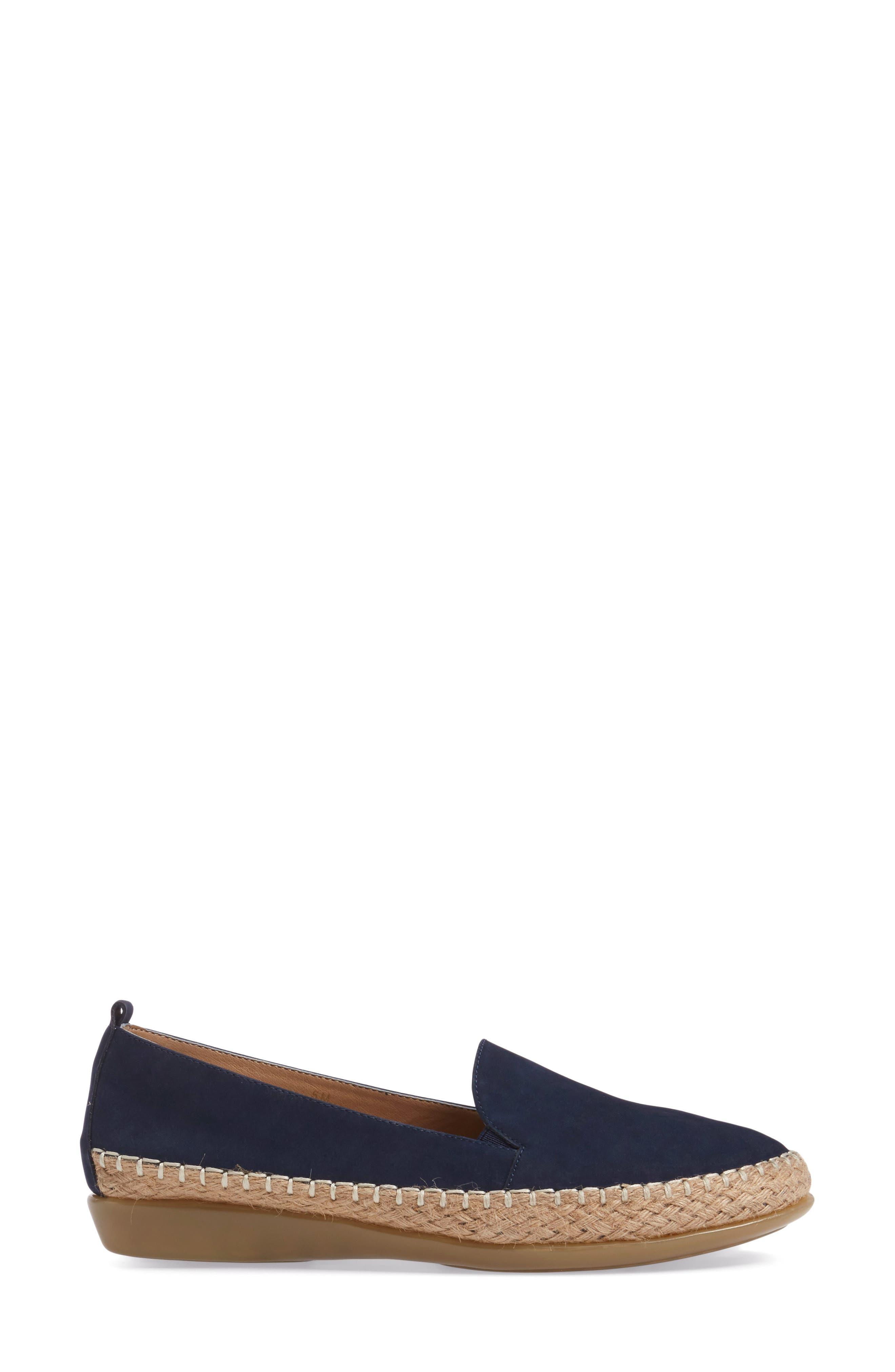 Nadette Espadrille Loafer Flat,                             Alternate thumbnail 11, color,