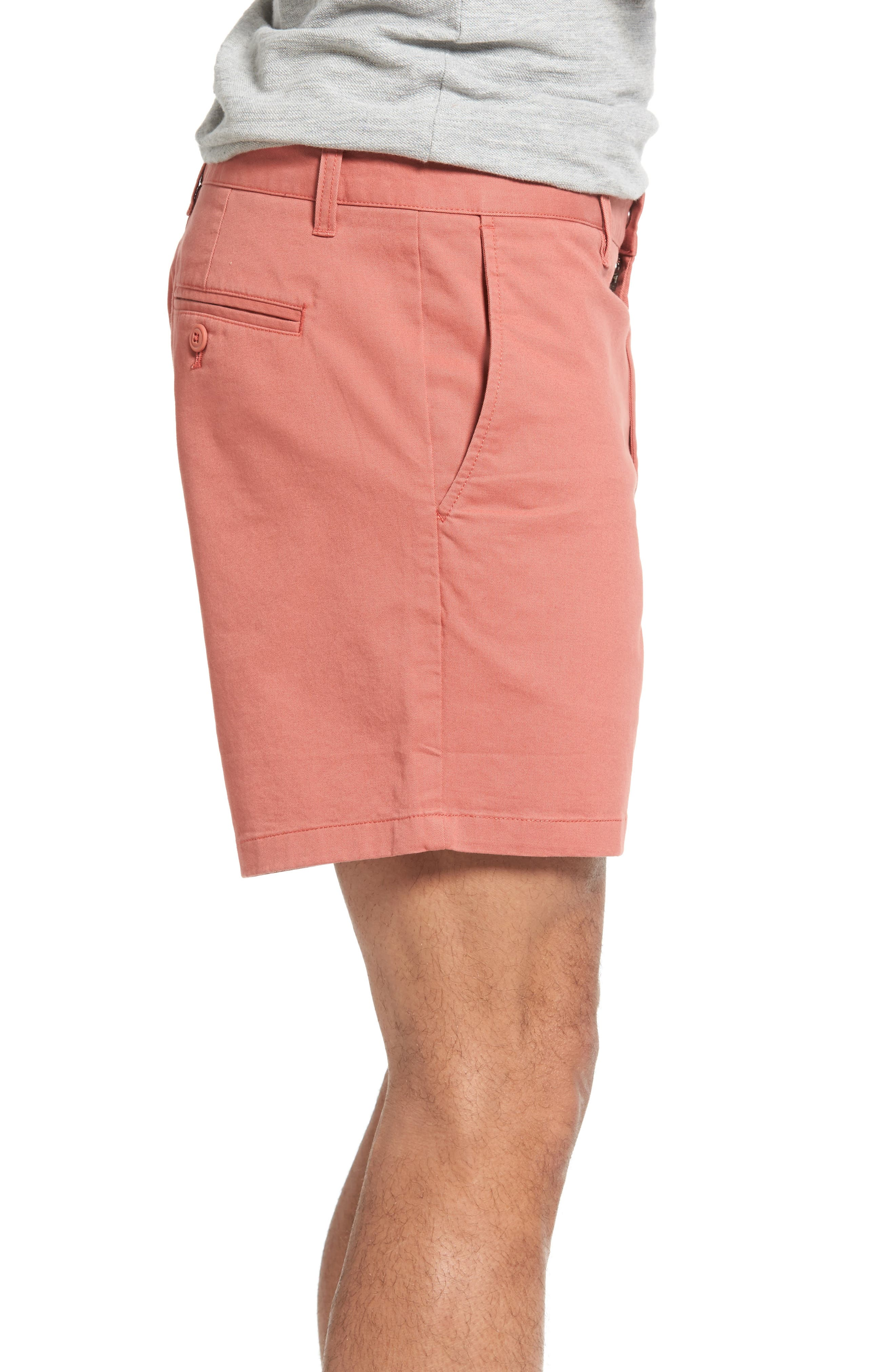 Stretch Washed Chino 5-Inch Shorts,                             Alternate thumbnail 84, color,
