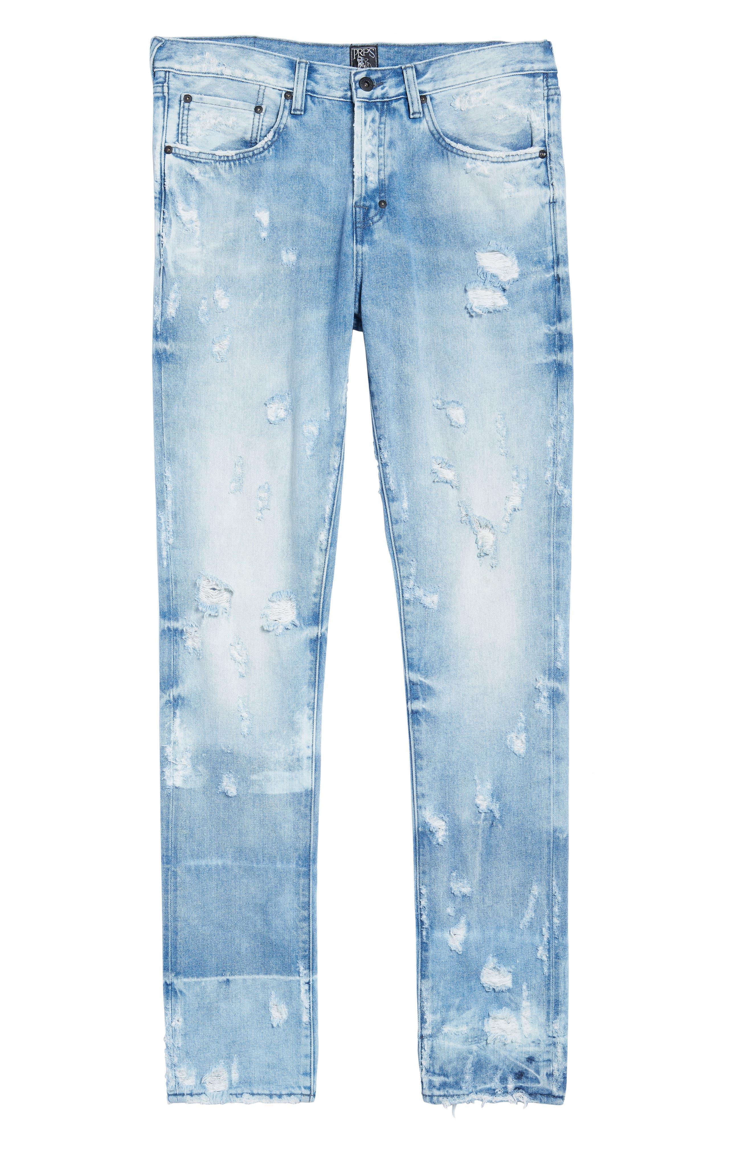 Le Sabre Slim Fit Jeans,                             Alternate thumbnail 6, color,                             454