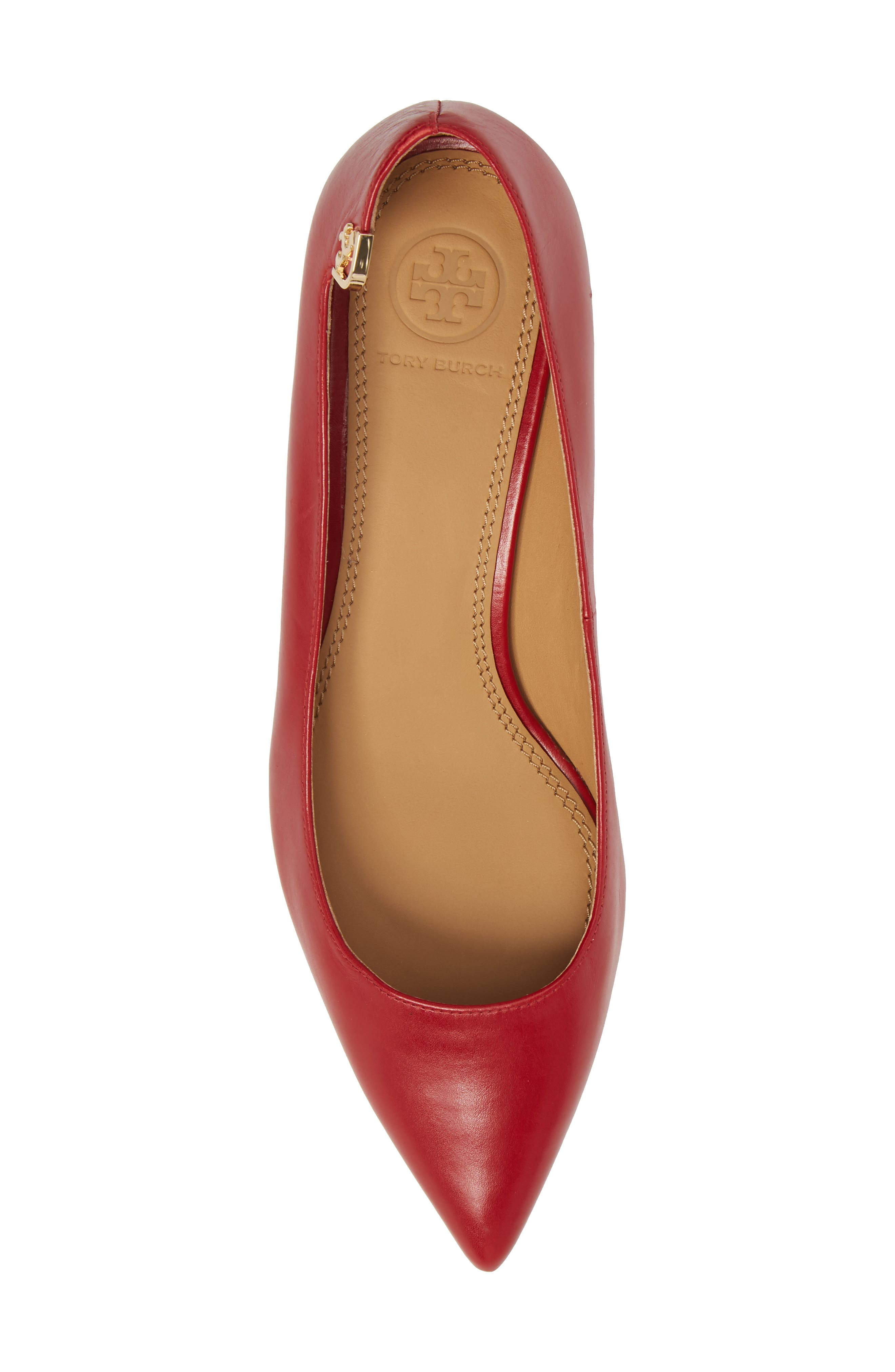 TORY BURCH,                             Elizabeth Pointy Toe Pump,                             Alternate thumbnail 5, color,                             601