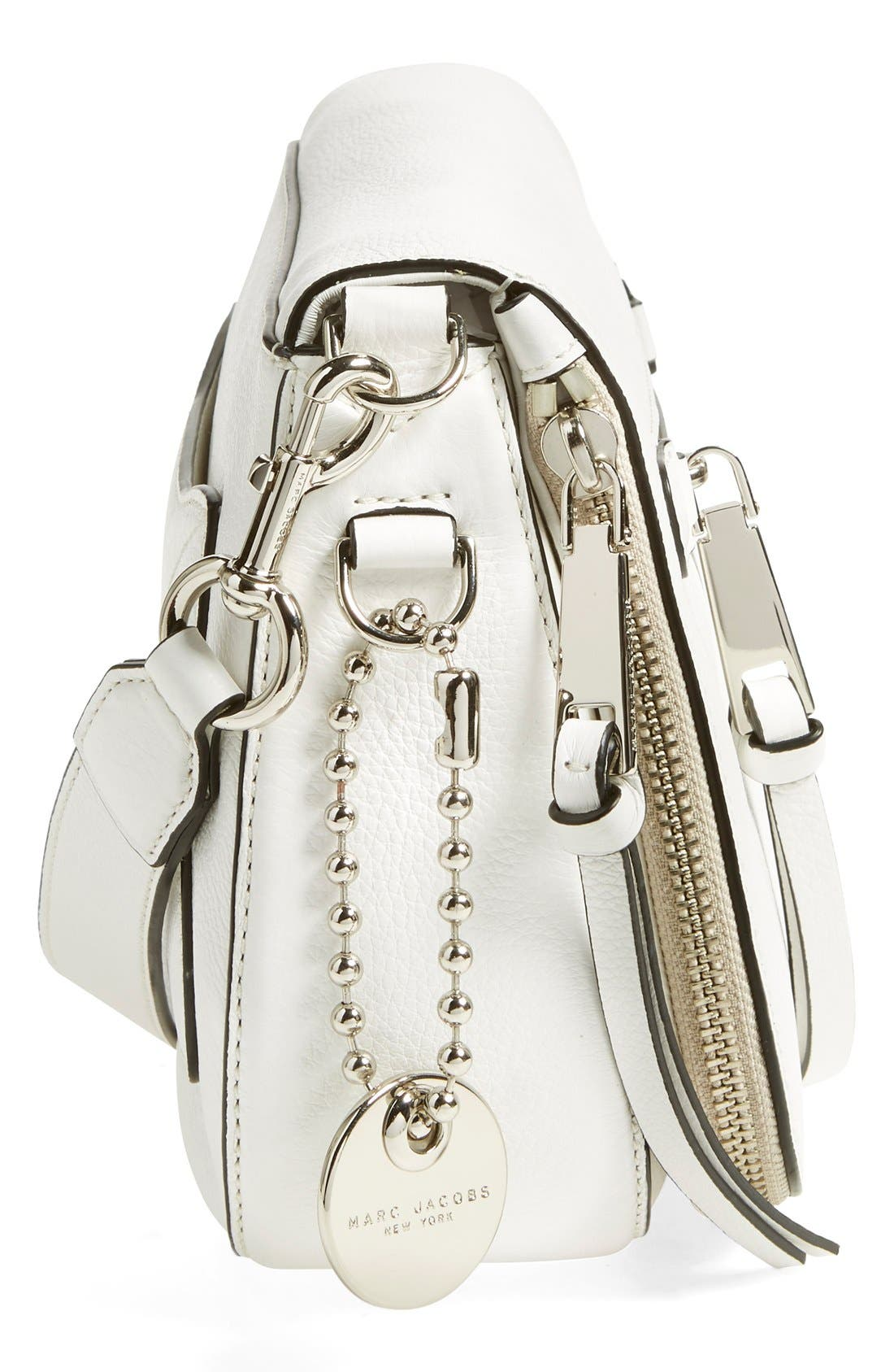Small Recruit Nomad Pebbled Leather Crossbody Bag,                             Alternate thumbnail 68, color,
