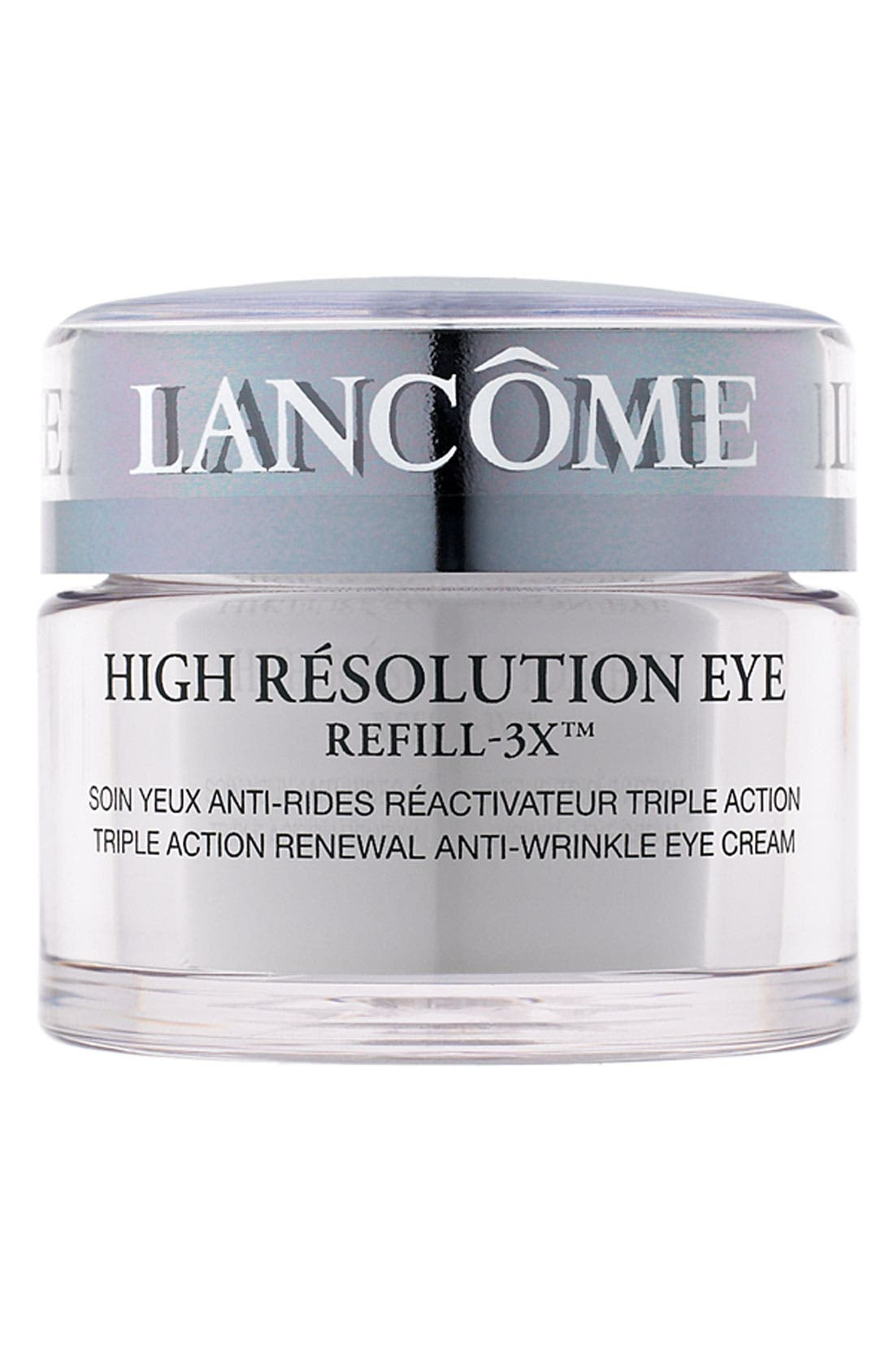 High Résolution Refill-3X Anti-Wrinkle Eye Cream,                         Main,                         color, NO COLOR