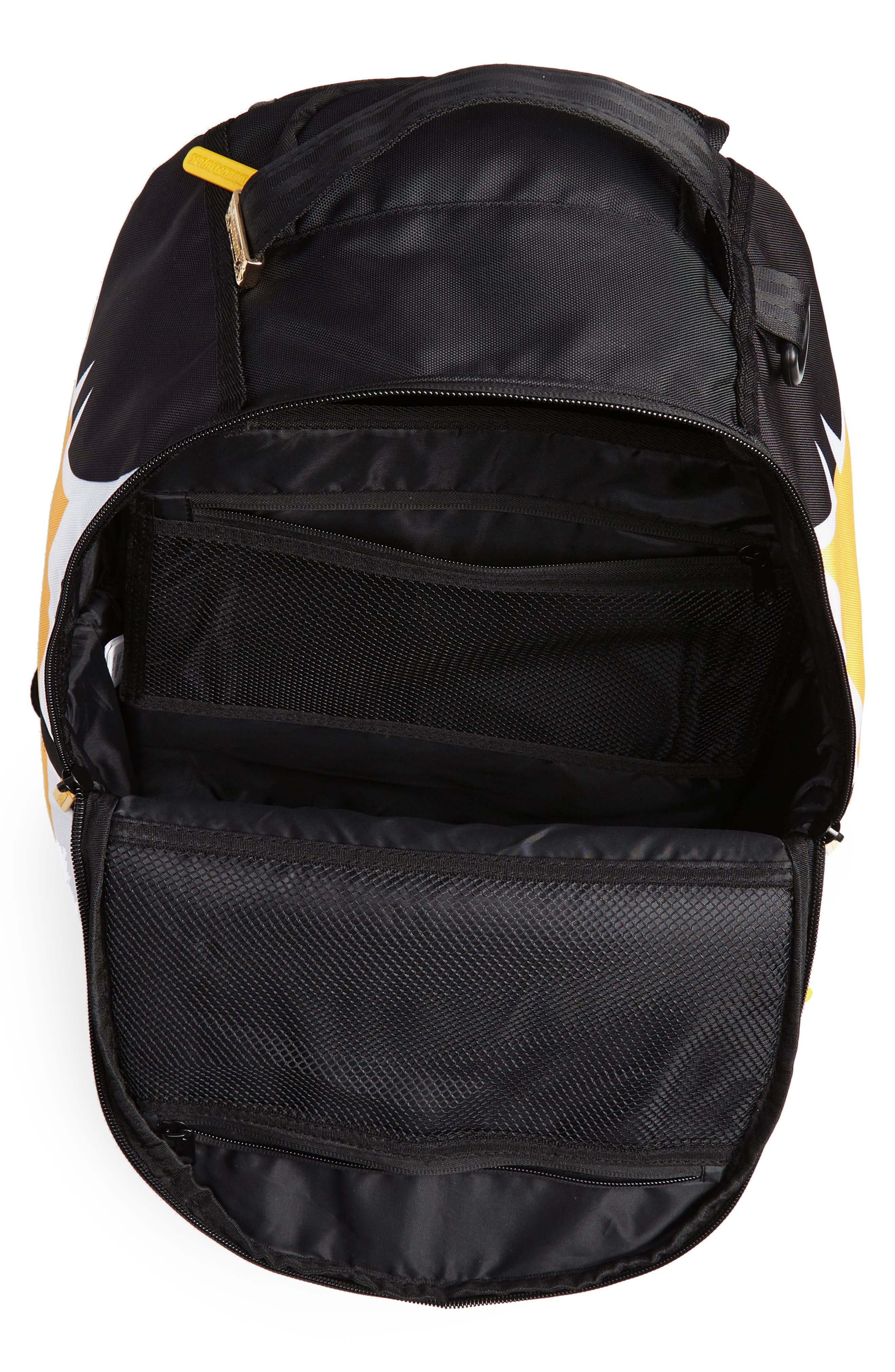 Ball Jersey Backpack,                             Alternate thumbnail 4, color,                             BLACK