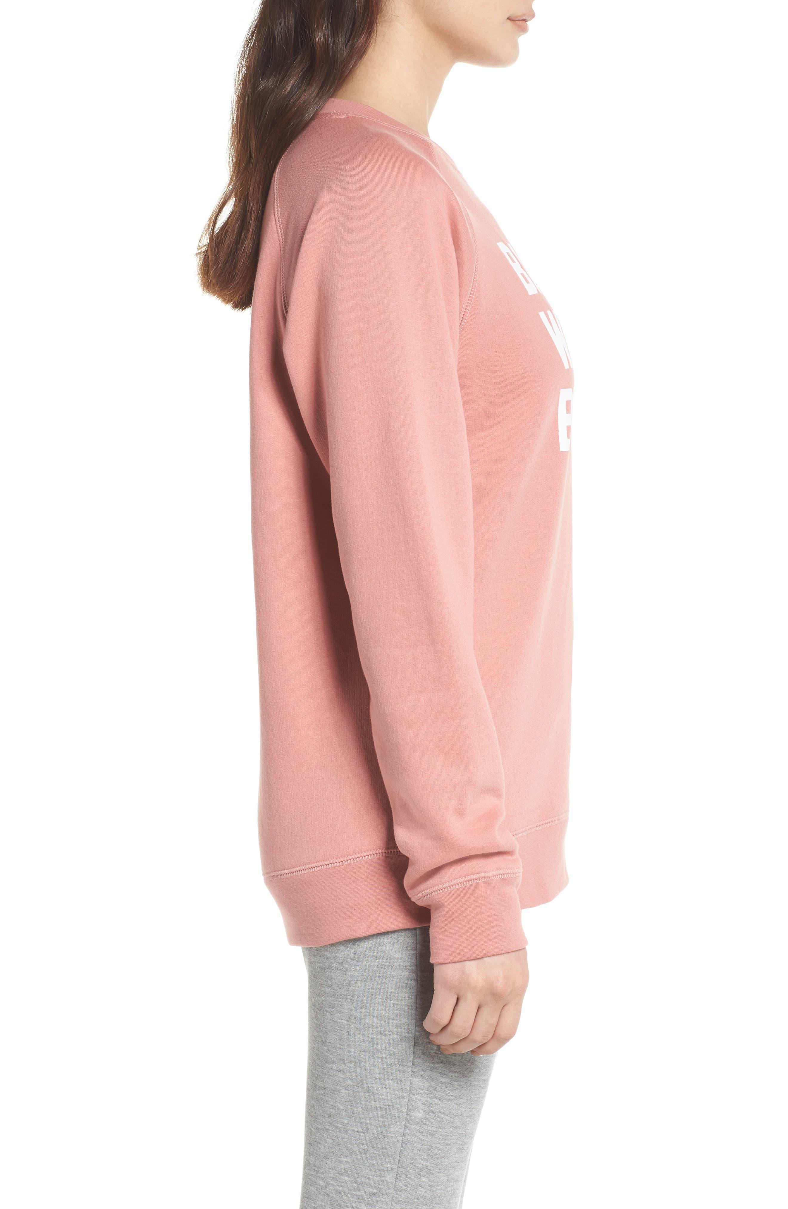 Babes Who Brunch Sweatshirt,                             Alternate thumbnail 3, color,                             955