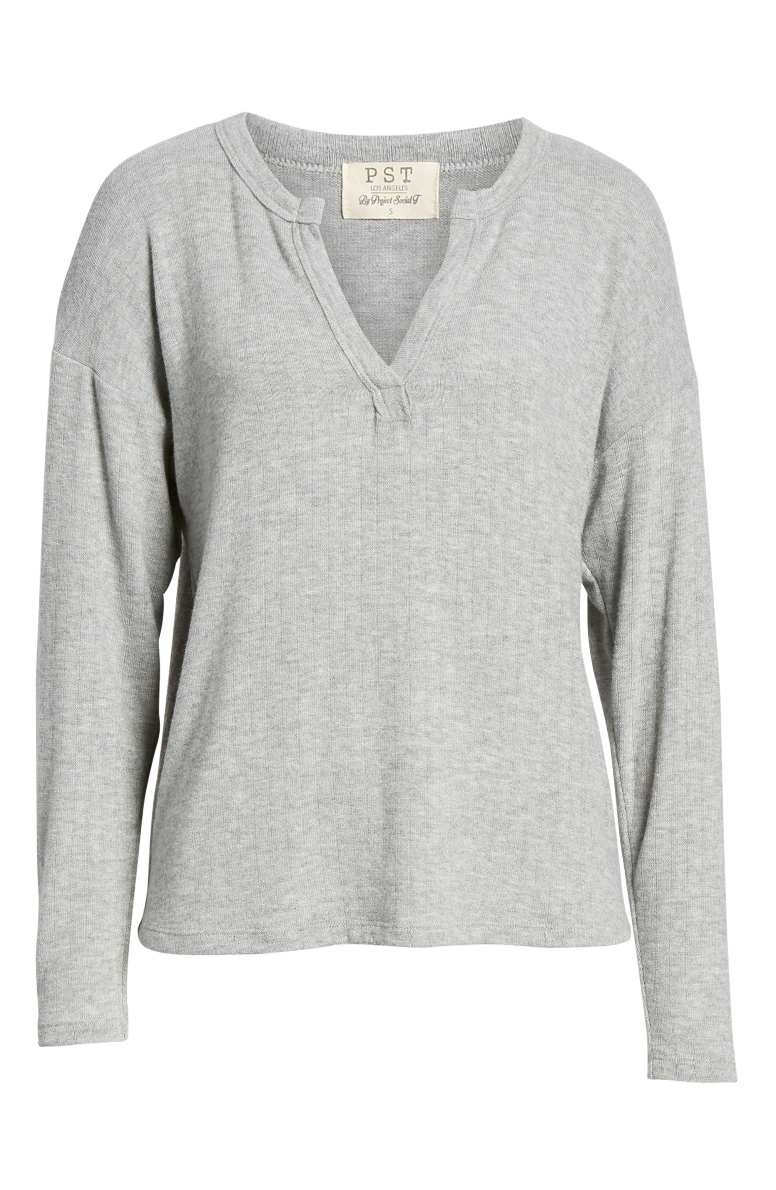 PST BY PROJECT SOCIAL T,                             e Cozy Tee,                             Alternate thumbnail 6, color,                             GREY