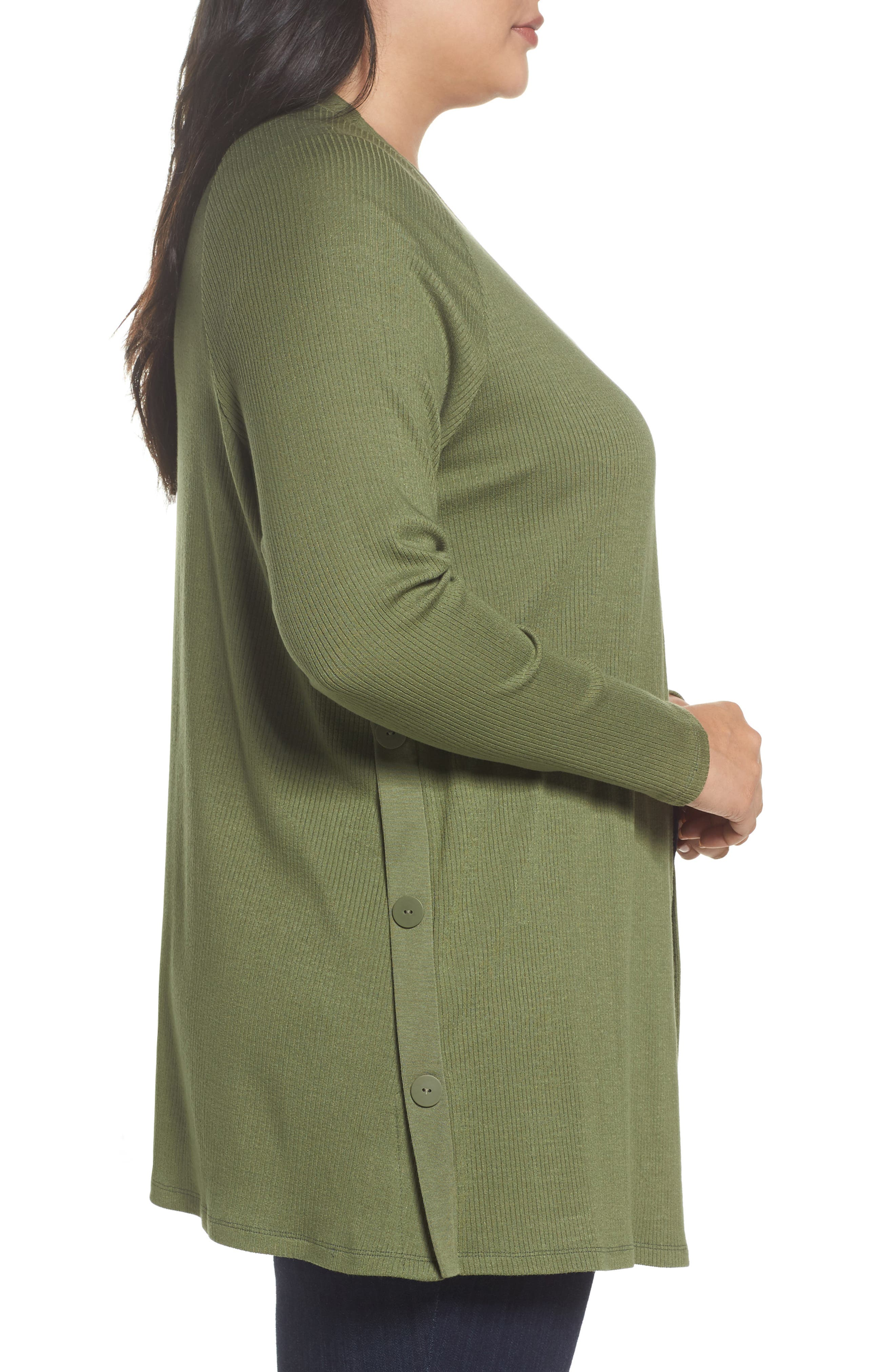 Easy Long Open Front Cardigan,                             Alternate thumbnail 6, color,