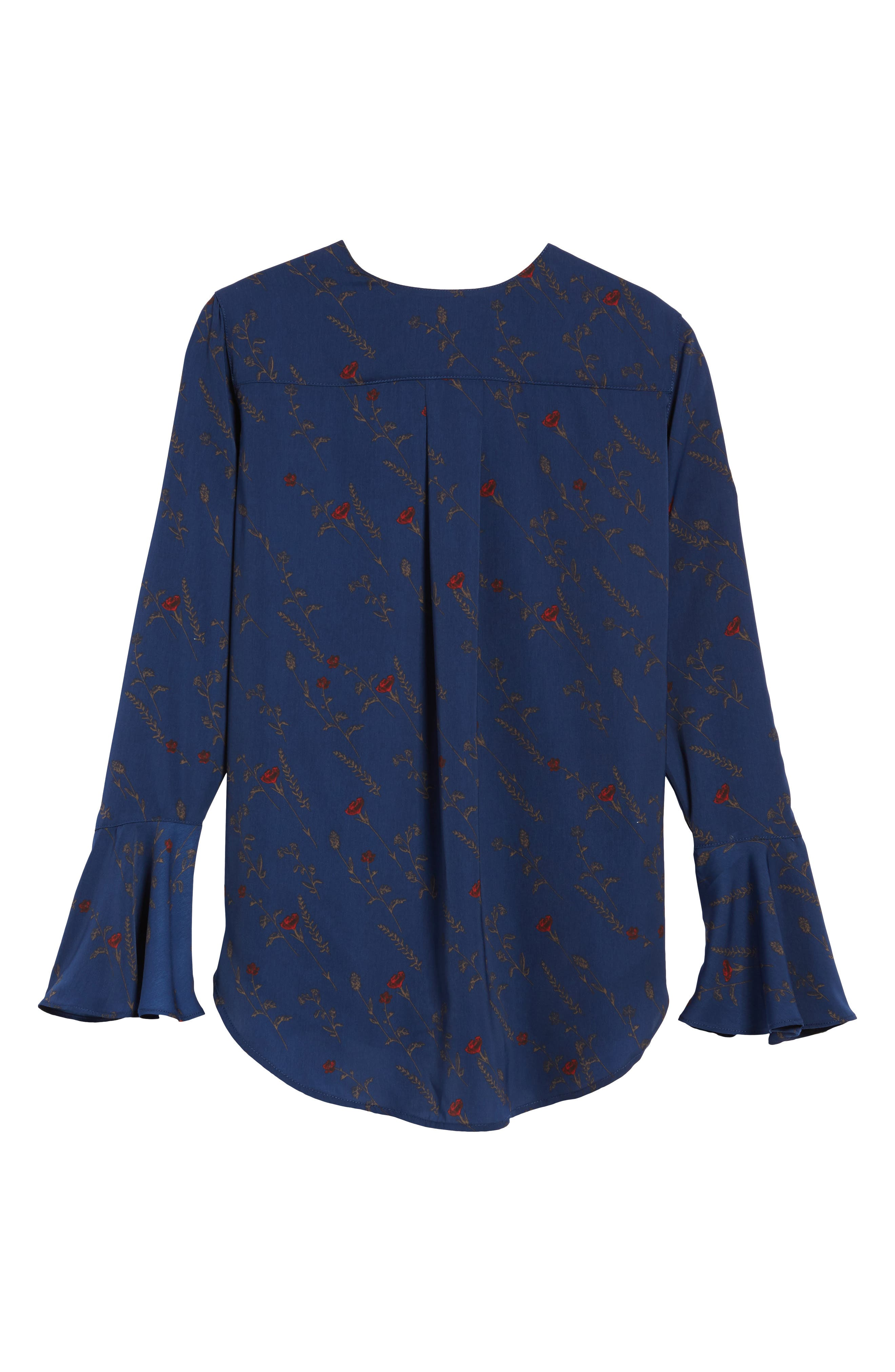 Bell Sleeve Top,                             Alternate thumbnail 6, color,                             400