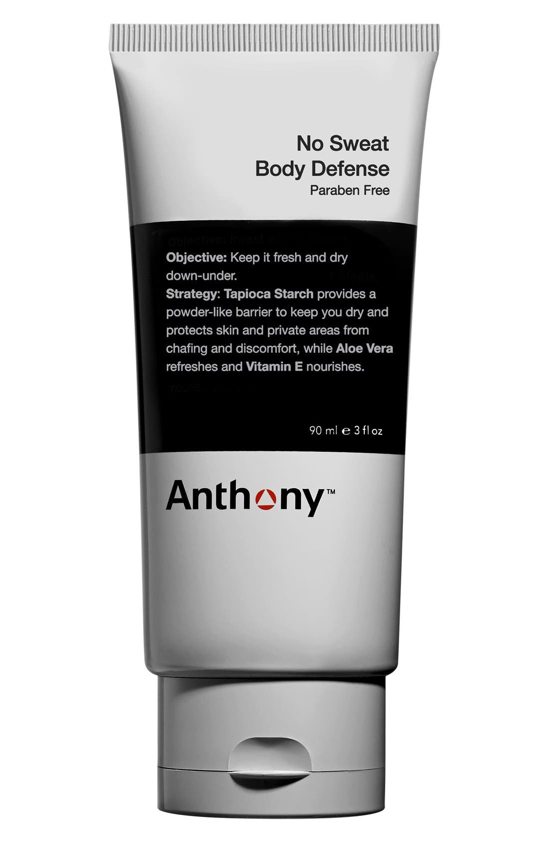 No Sweat Body Defense,                         Main,                         color, NO COLOR
