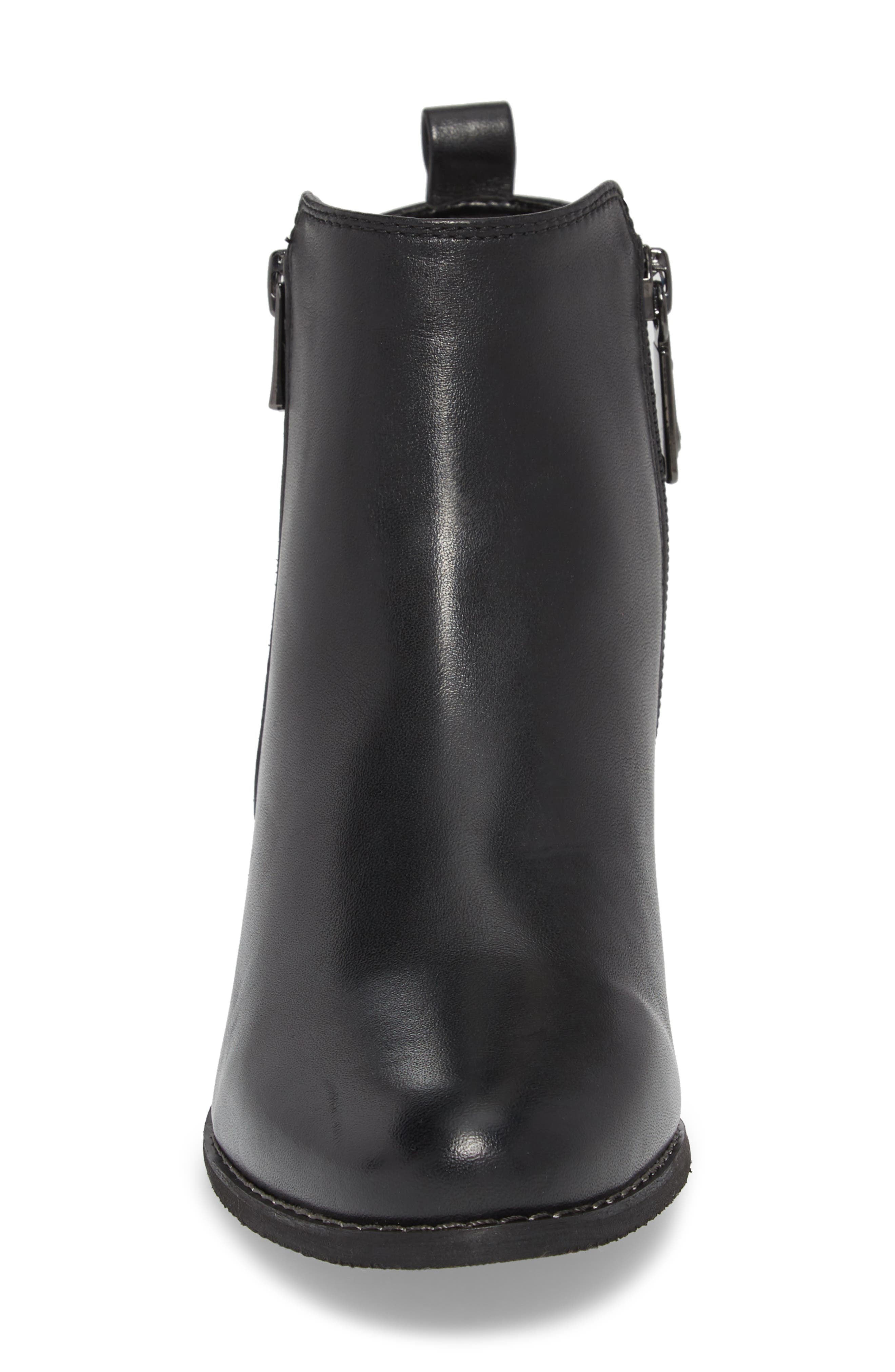 Lila Waterproof Bootie,                             Alternate thumbnail 4, color,                             001