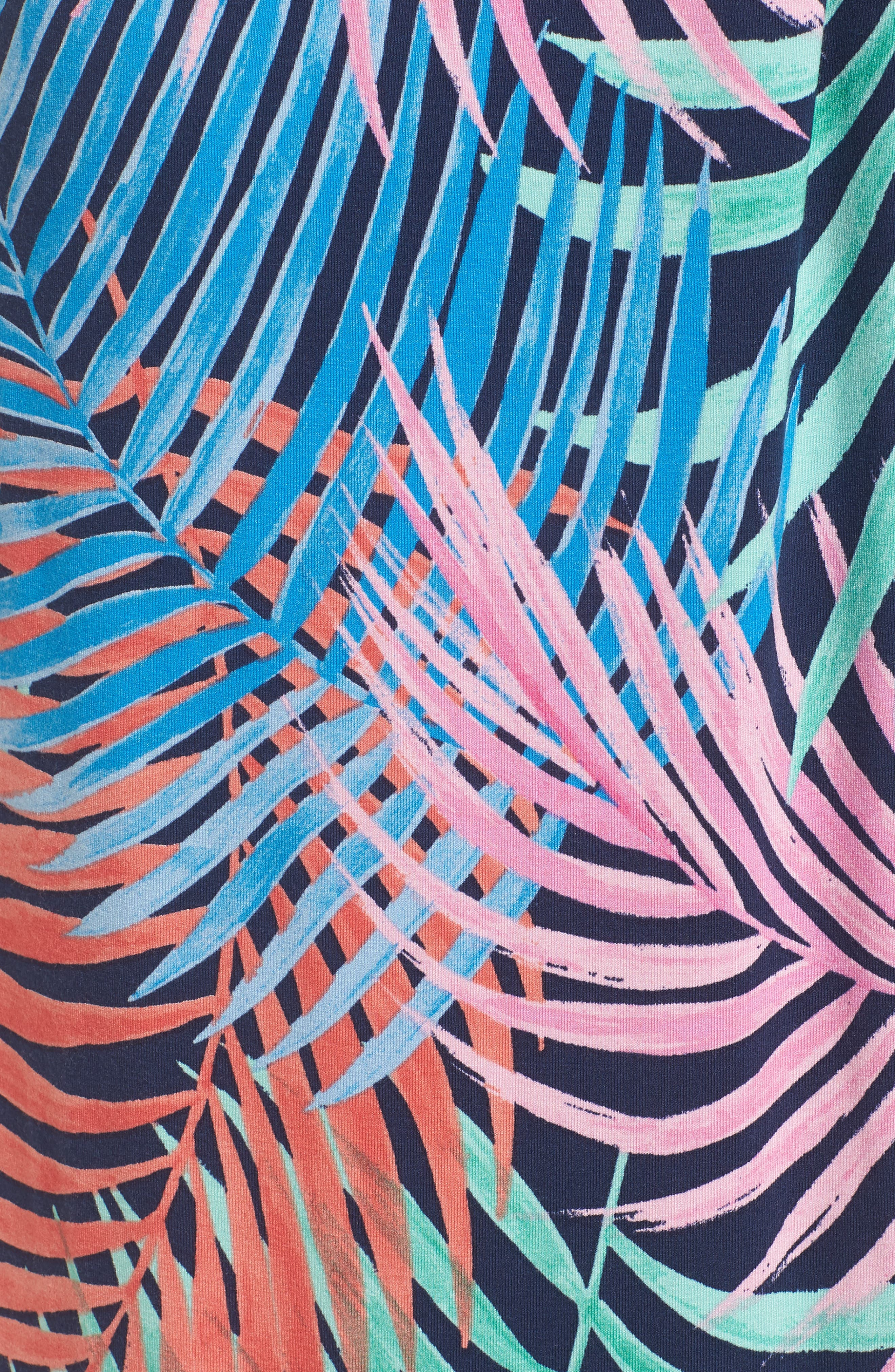 Tulum Trance Twist Maxi Dress,                             Alternate thumbnail 6, color,                             OCEAN DEEP