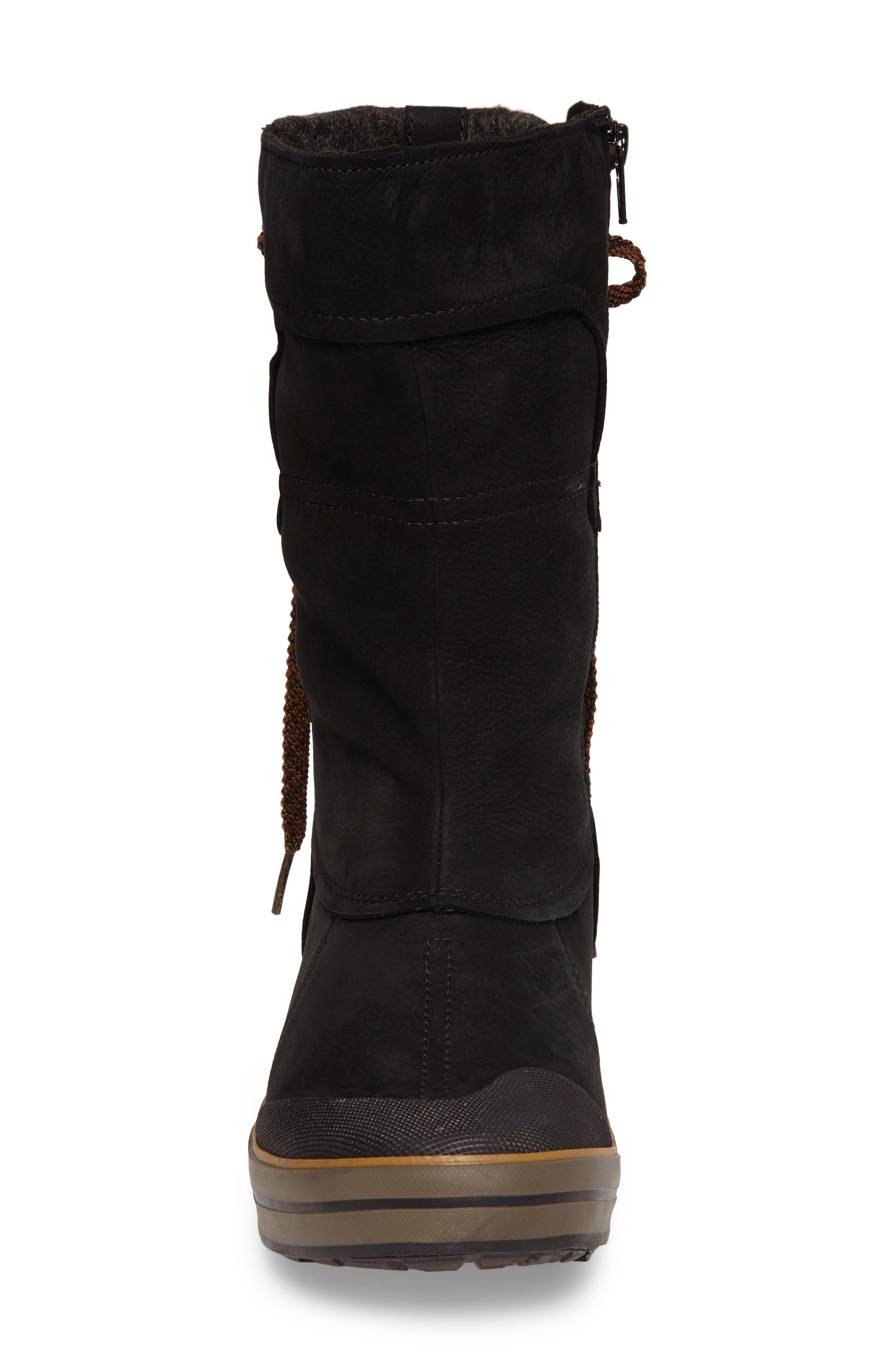 Elsa Premium Tall Waterproof Boot,                             Alternate thumbnail 4, color,                             001