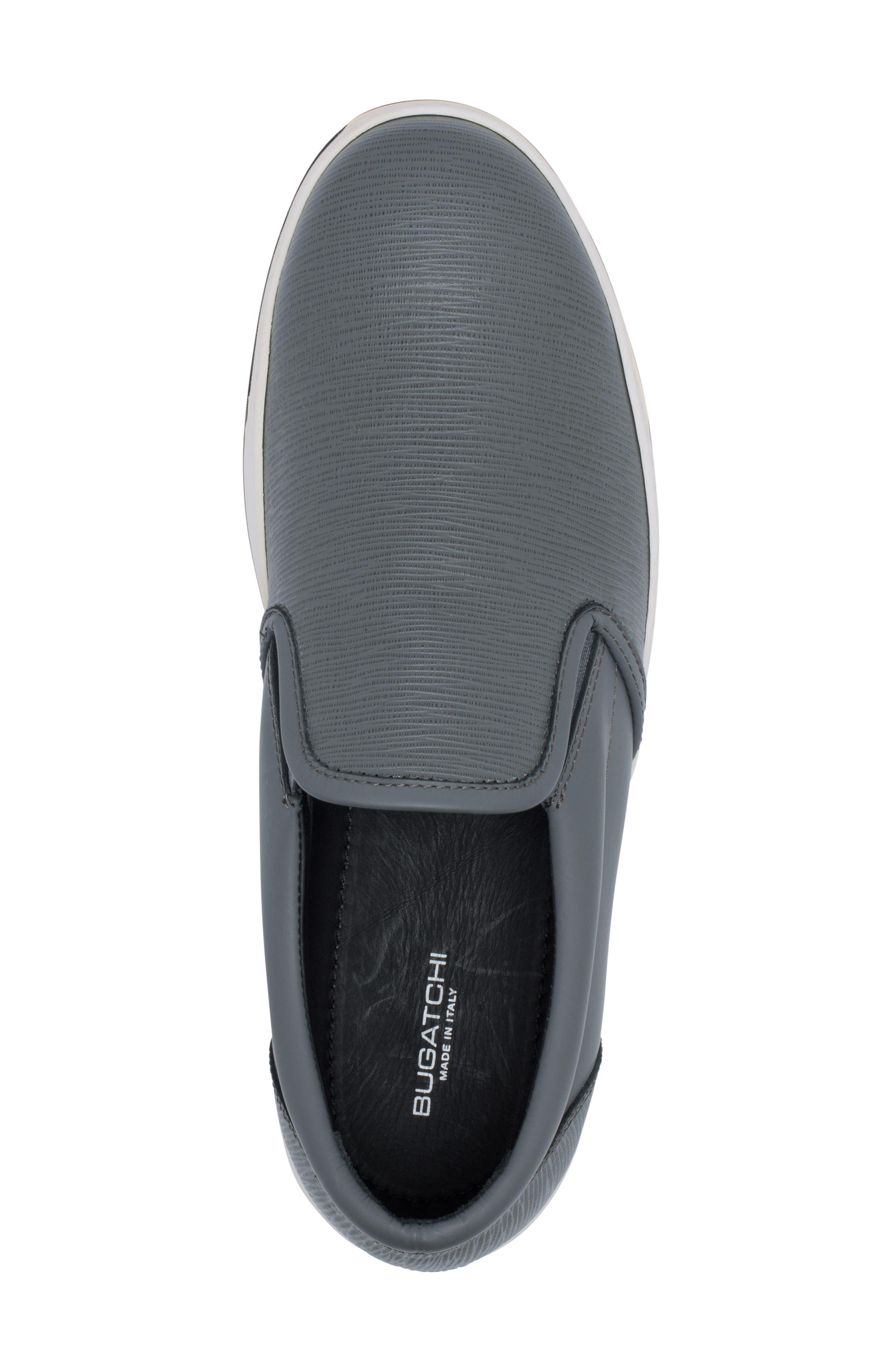 Santorini Slip-On Sneaker,                             Alternate thumbnail 5, color,                             GRAFITE