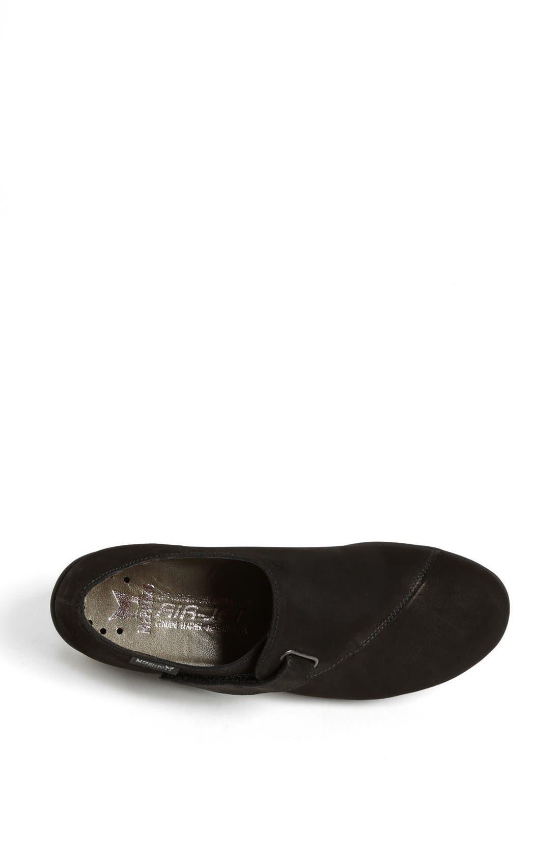 'Luce' Sneaker,                             Alternate thumbnail 3, color,                             BLACK BUCKSOFT