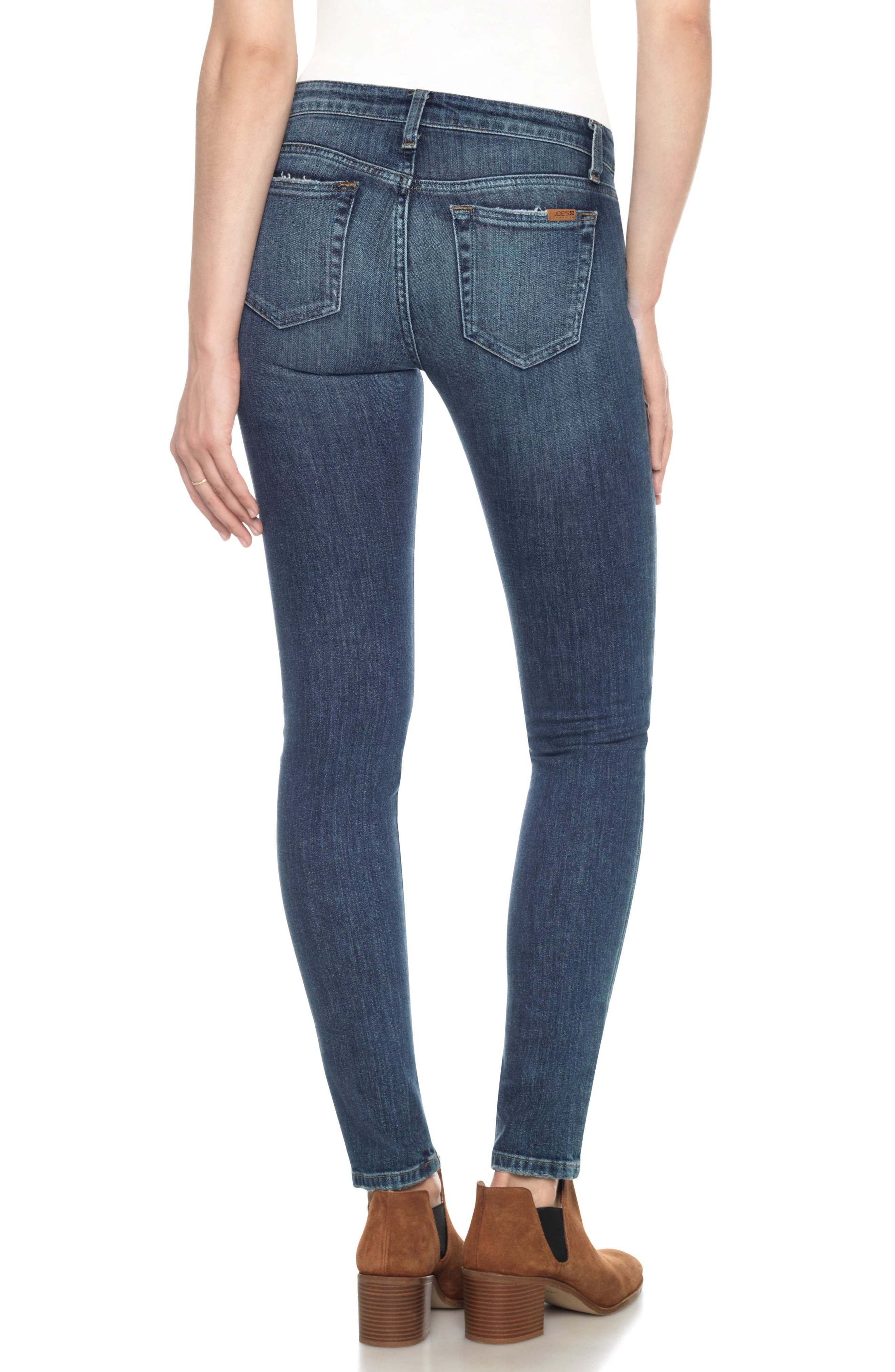 'The Icon' Skinny Jeans,                             Alternate thumbnail 2, color,                             410