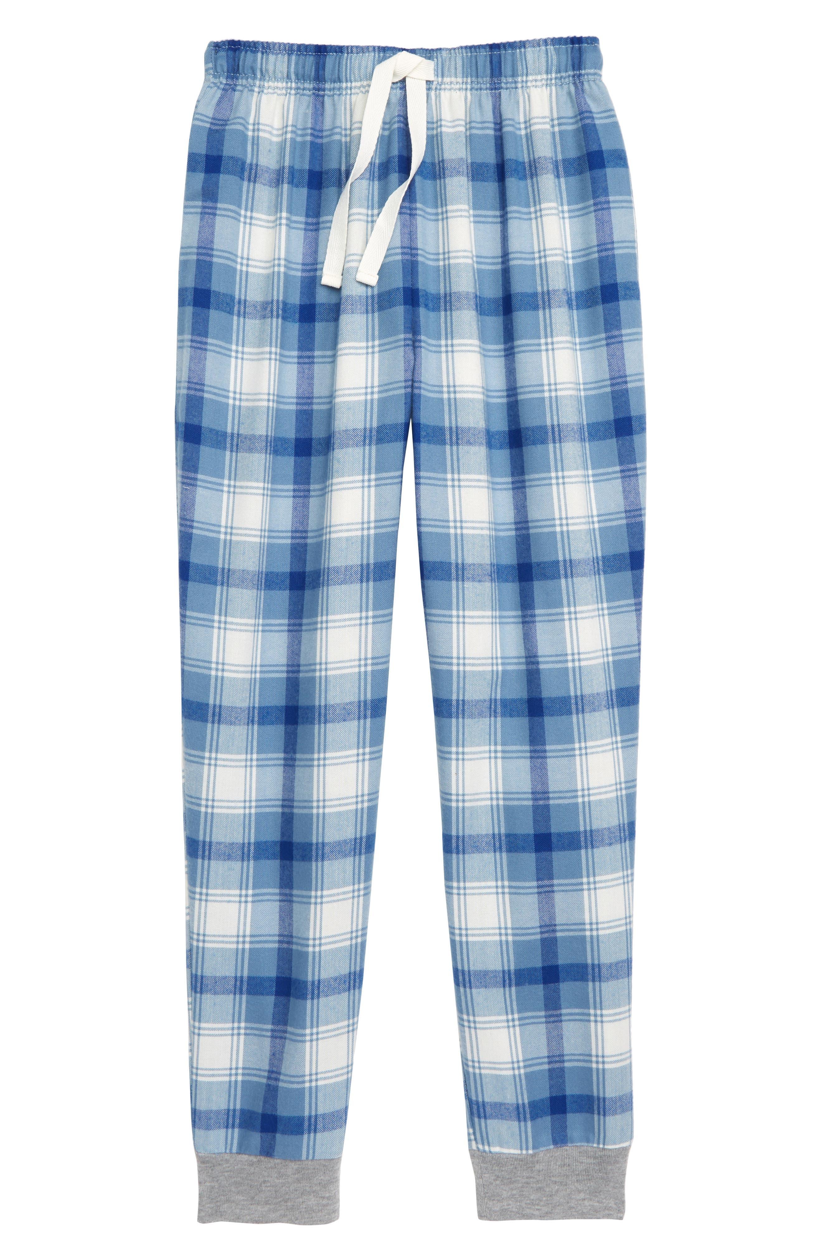 Flannel Jogger Pants,                             Main thumbnail 1, color,                             451