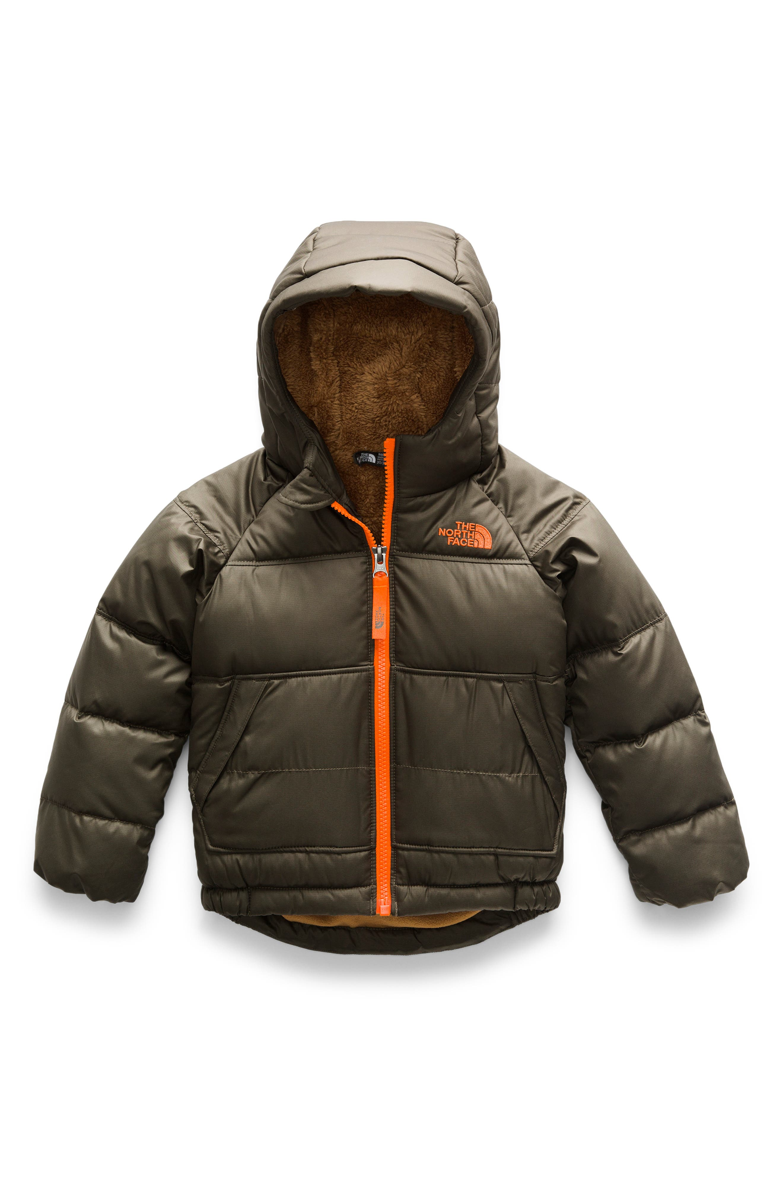 Toddler Boys The North Face Moondoggy 20 Hooded Down Jacket Size 3T  Green