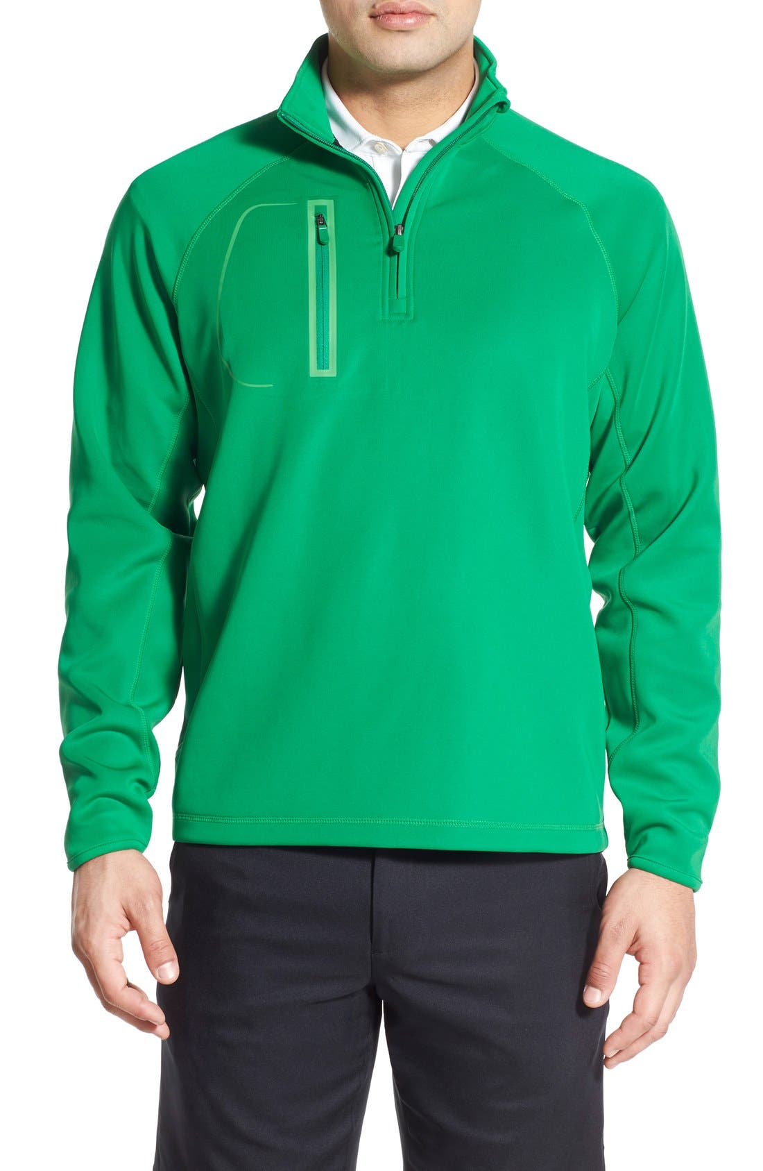XH2O Crawford Stretch Quarter Zip Golf Pullover,                             Main thumbnail 6, color,