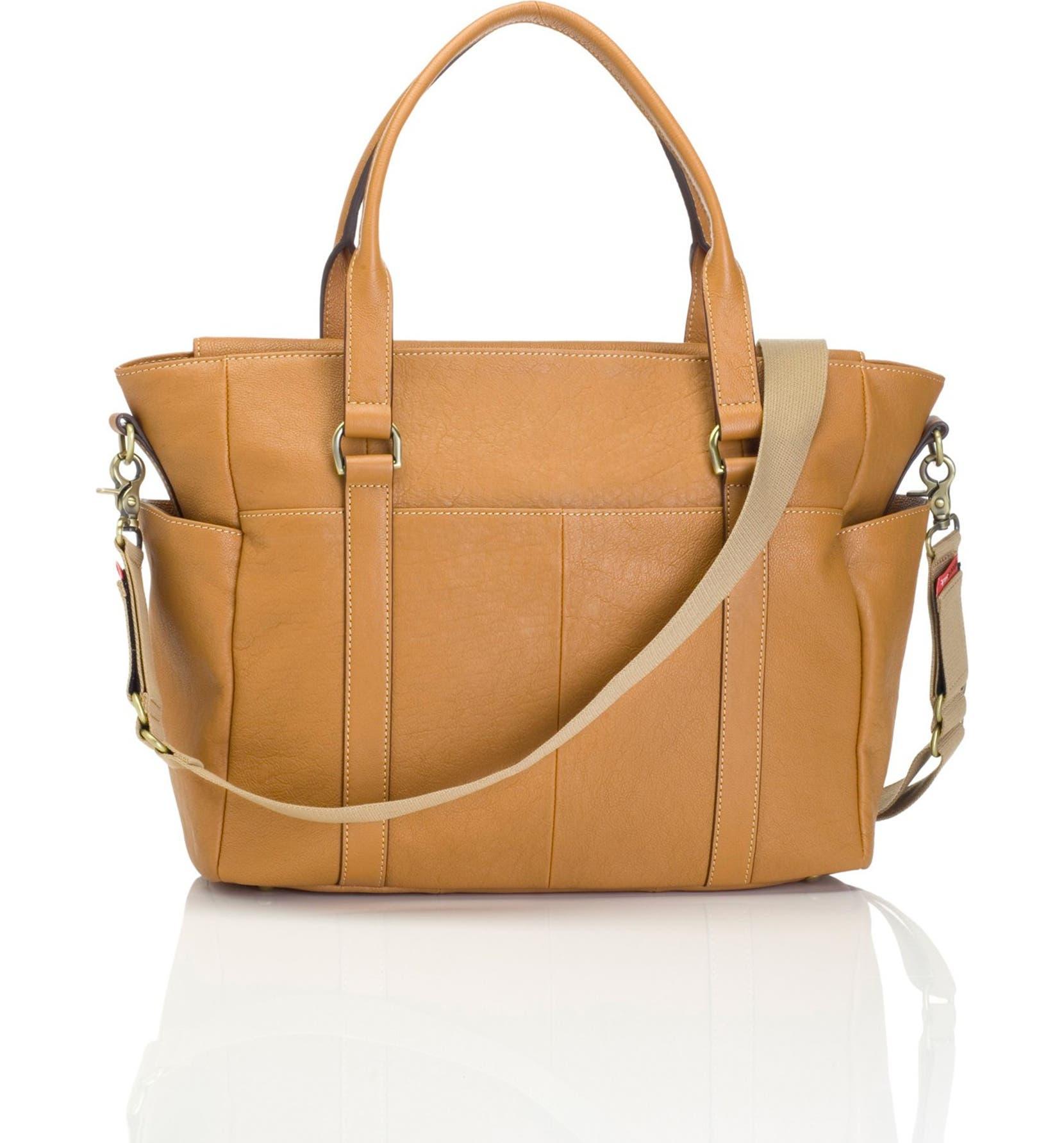 Storksak  Emma  Leather Diaper Bag  9cbe973c46780
