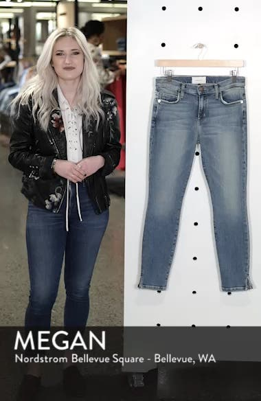 The Stiletto Vent Hem Skinny Jeans, sales video thumbnail