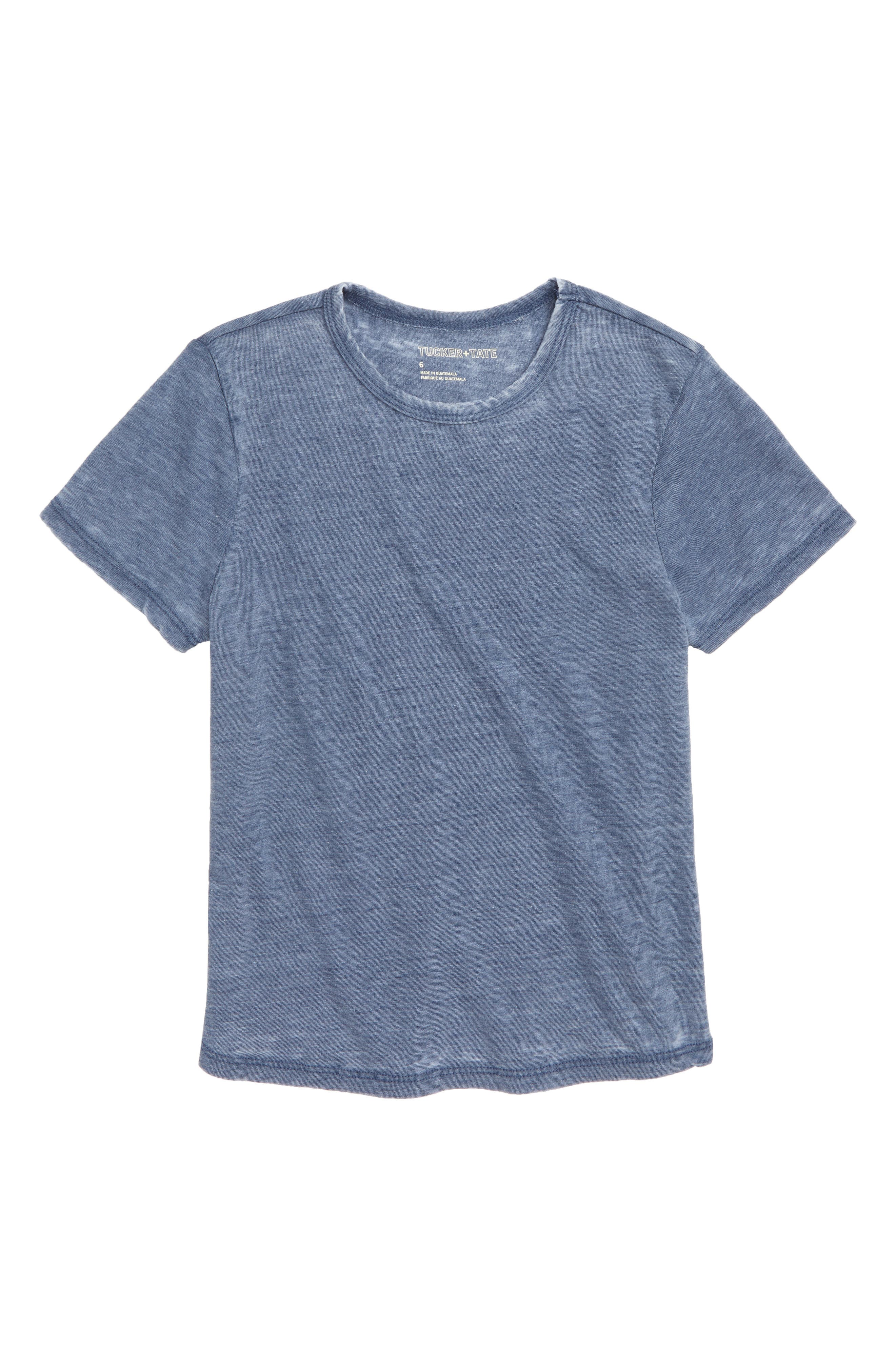 All Day Every Day T-Shirt, Main, color, BLUE OASIS