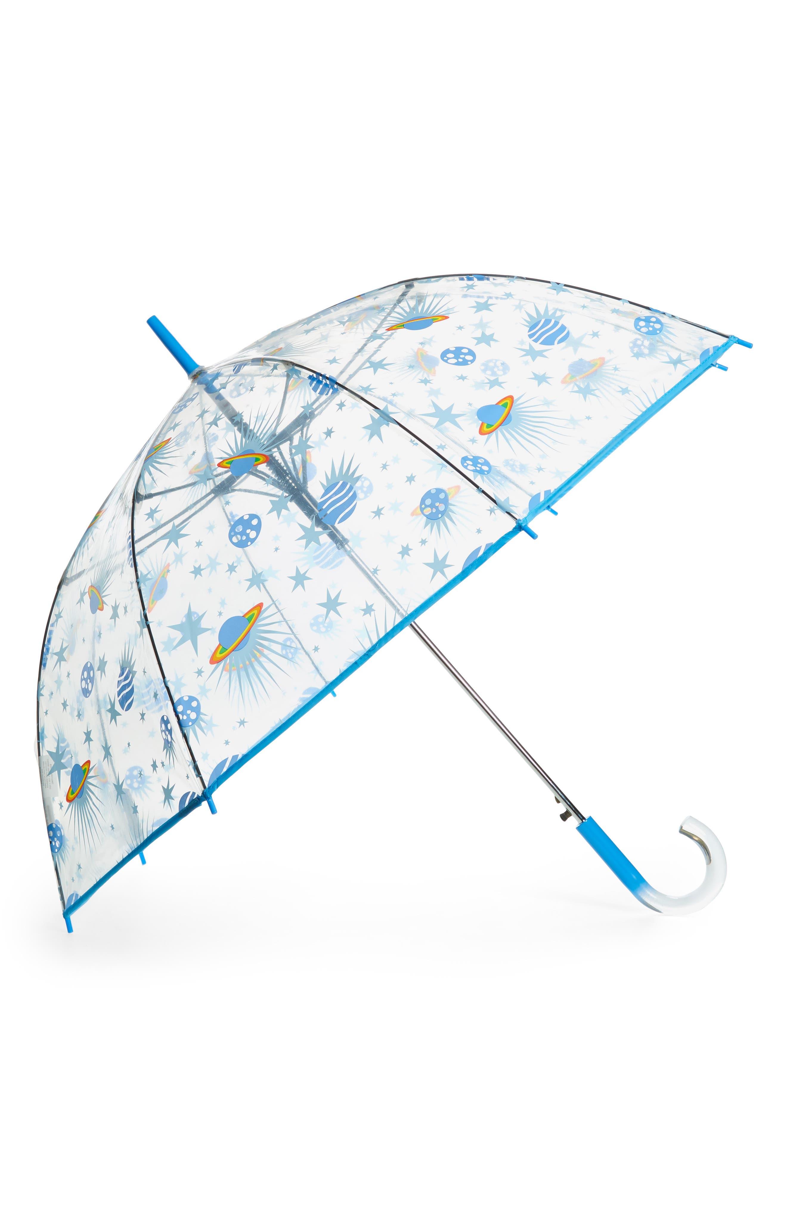 'The Bubble' Auto Open Stick Umbrella,                             Main thumbnail 1, color,                             GAZER
