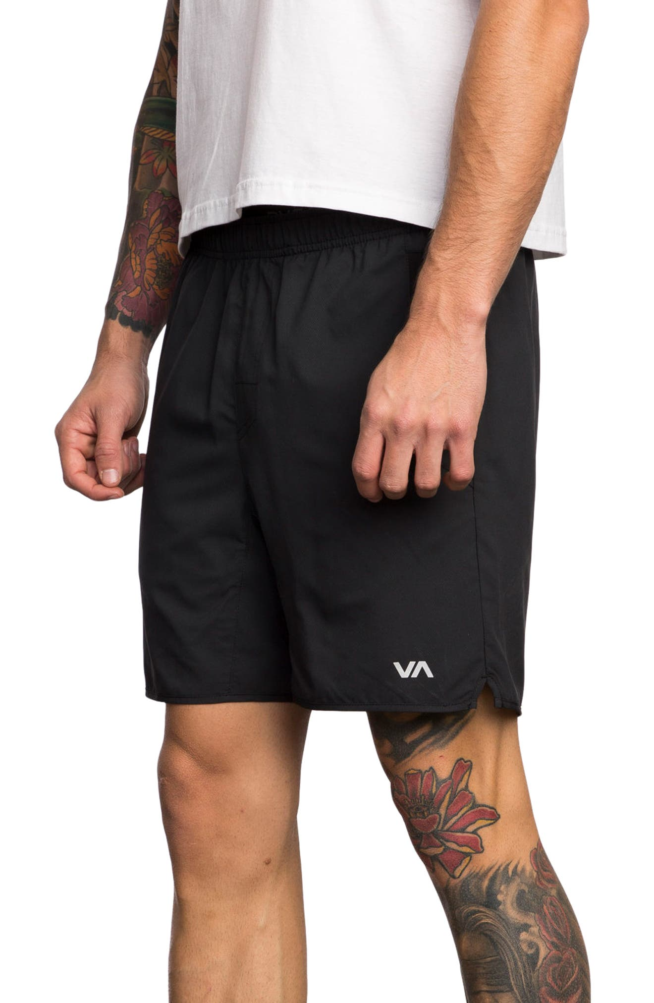 Yogger III Athletic Shorts,                             Alternate thumbnail 3, color,                             001