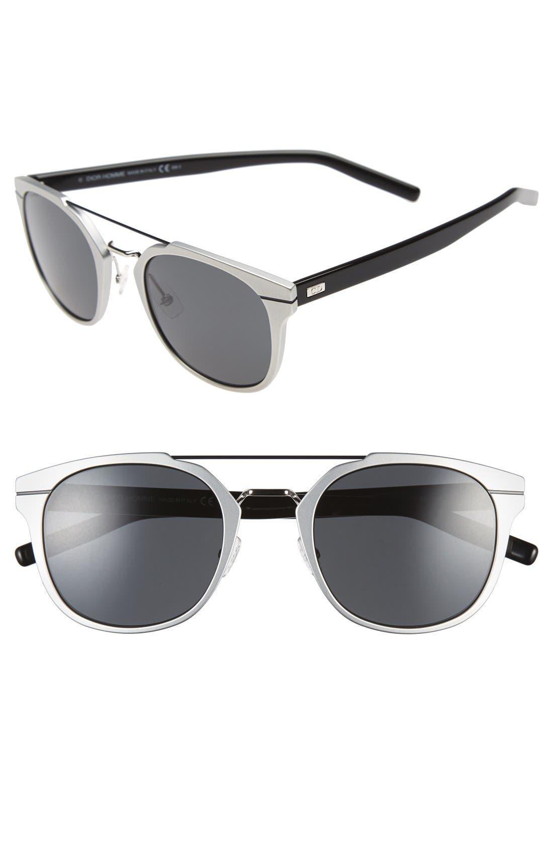 'AL 13.5S' 52mm Sunglasses,                             Main thumbnail 3, color,