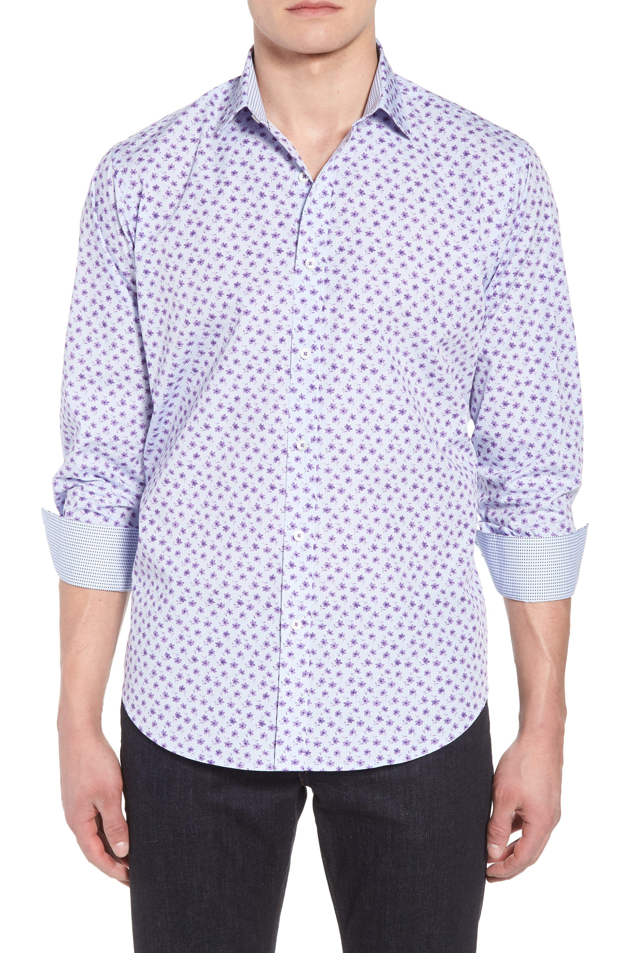 Classic Fit Woven Sport Shirt,                         Main,                         color, 503