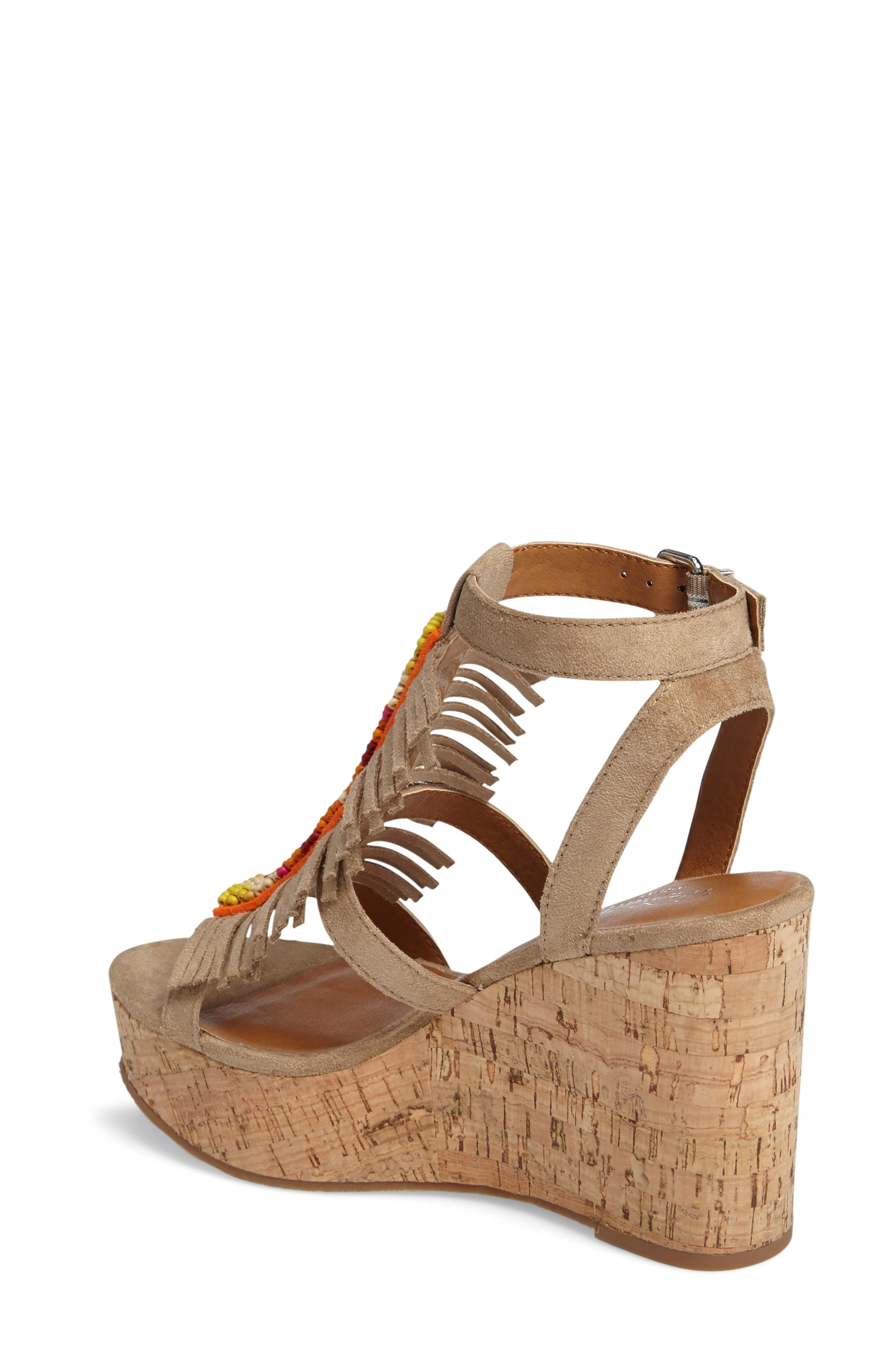 Unbridled Lolita Wedge Sandal,                             Alternate thumbnail 3, color,