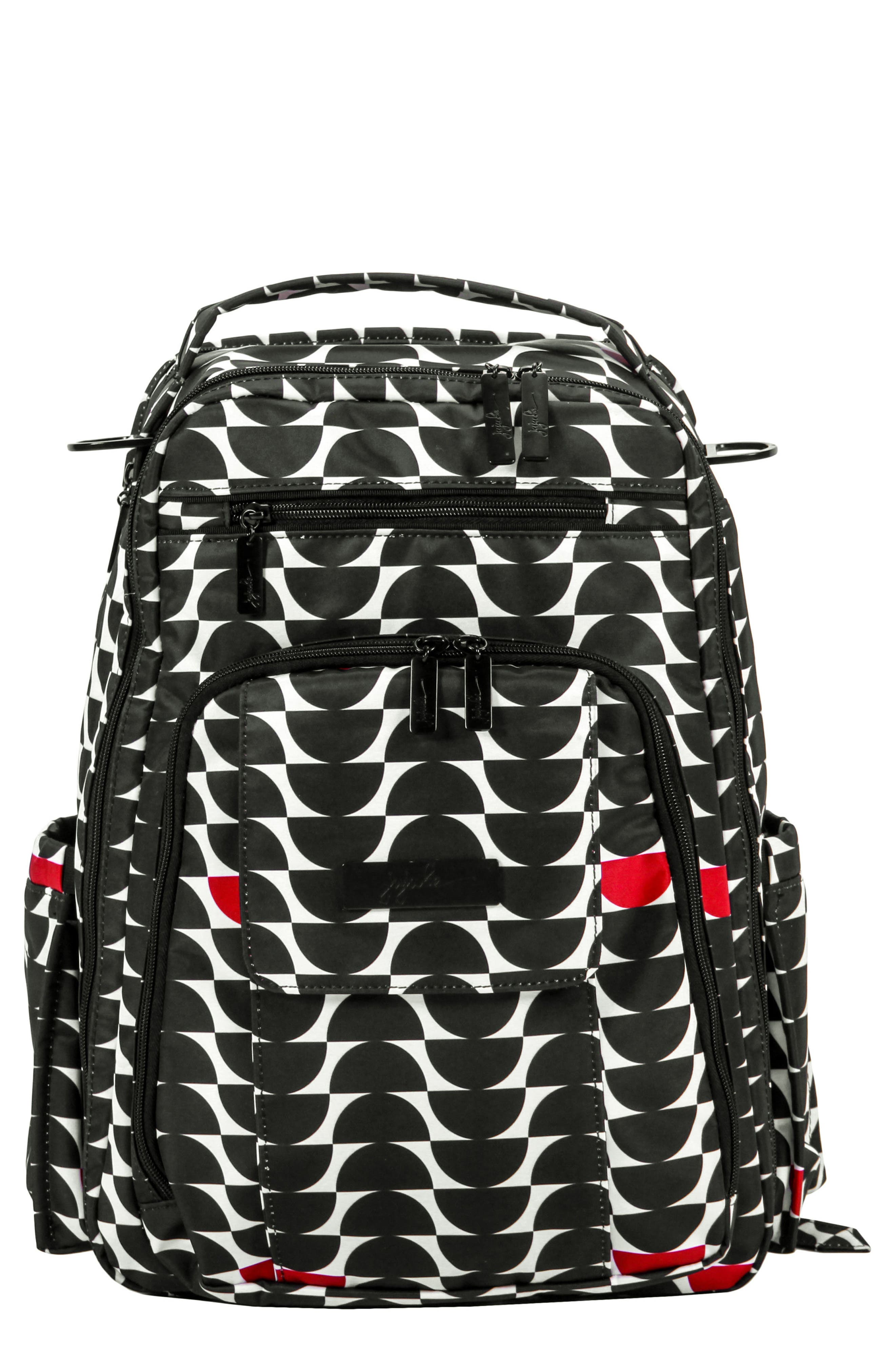 'Be Right Back' Diaper Backpack,                             Main thumbnail 1, color,                             006