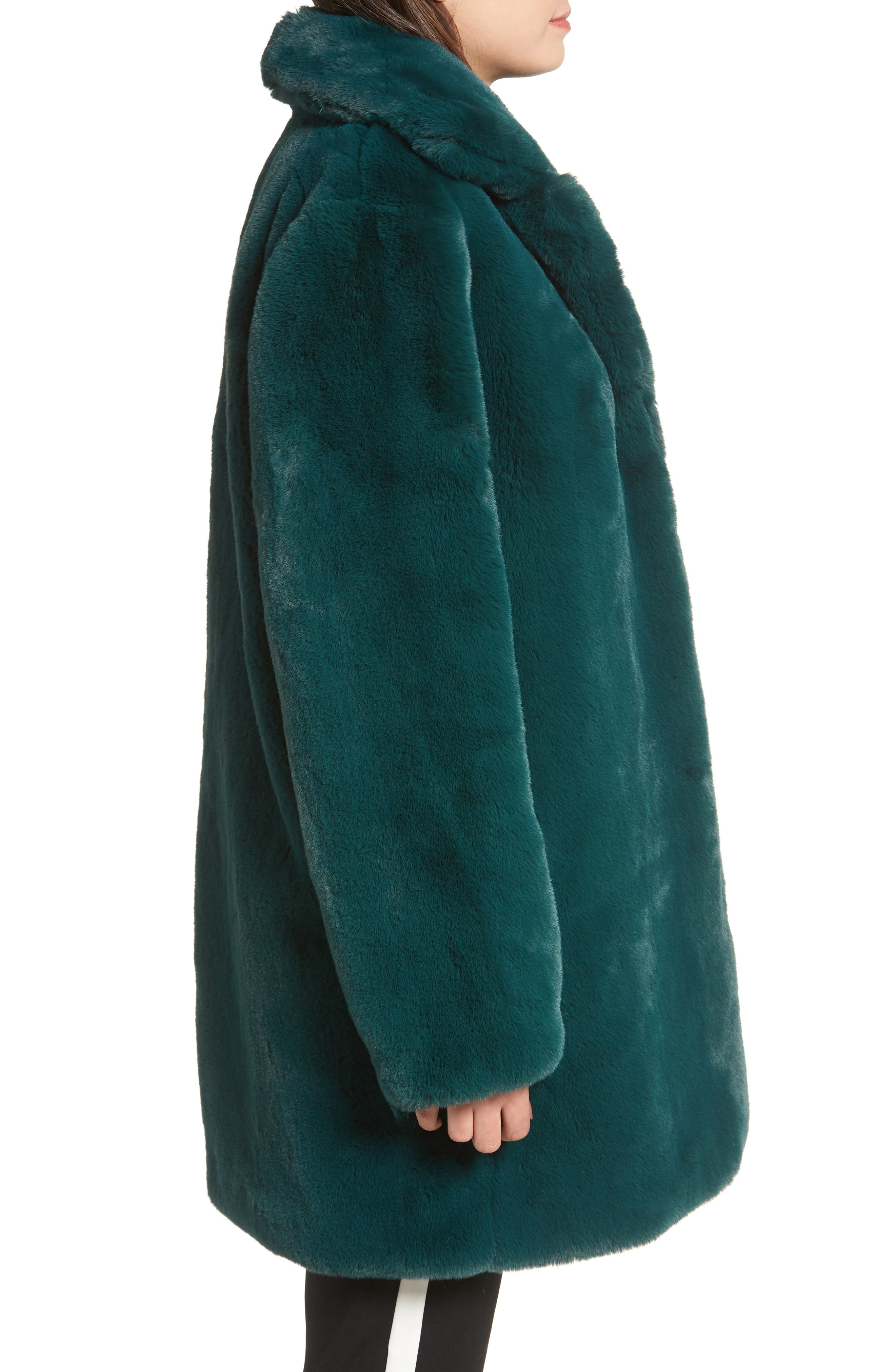 Dreaming Faux Fur Coat,                             Alternate thumbnail 3, color,                             300