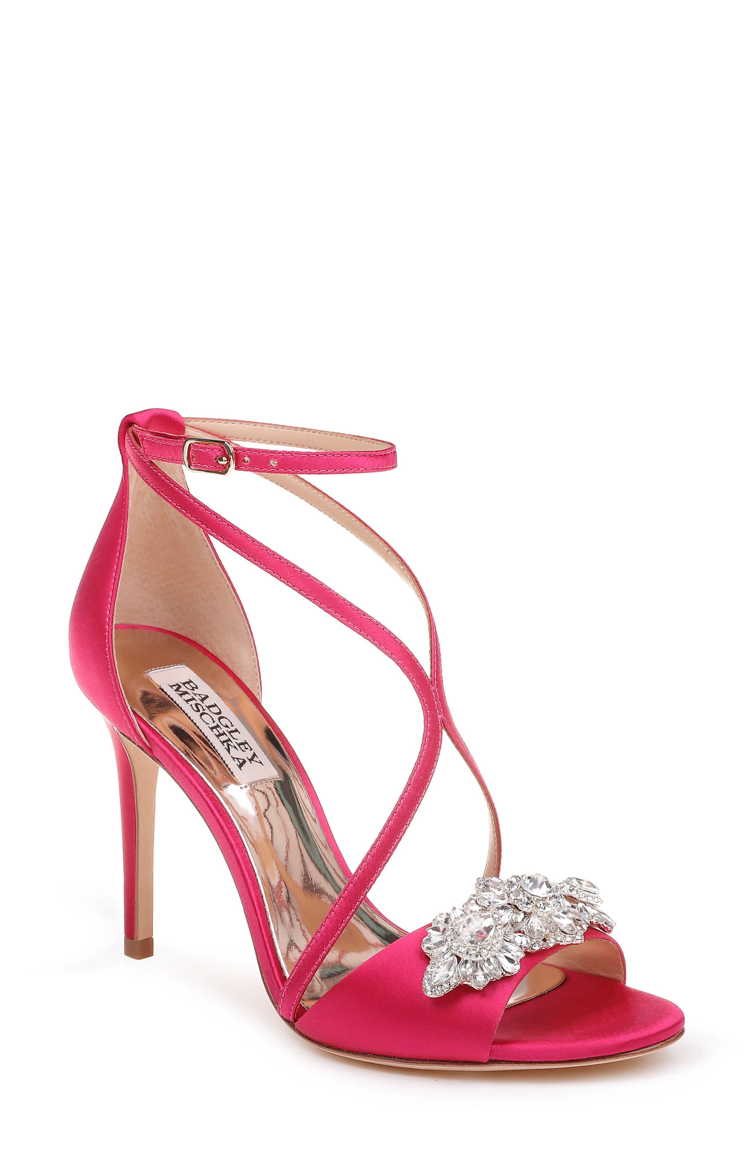 Vanessa Crystal Embellished Sandal,                         Main,                         color, 688