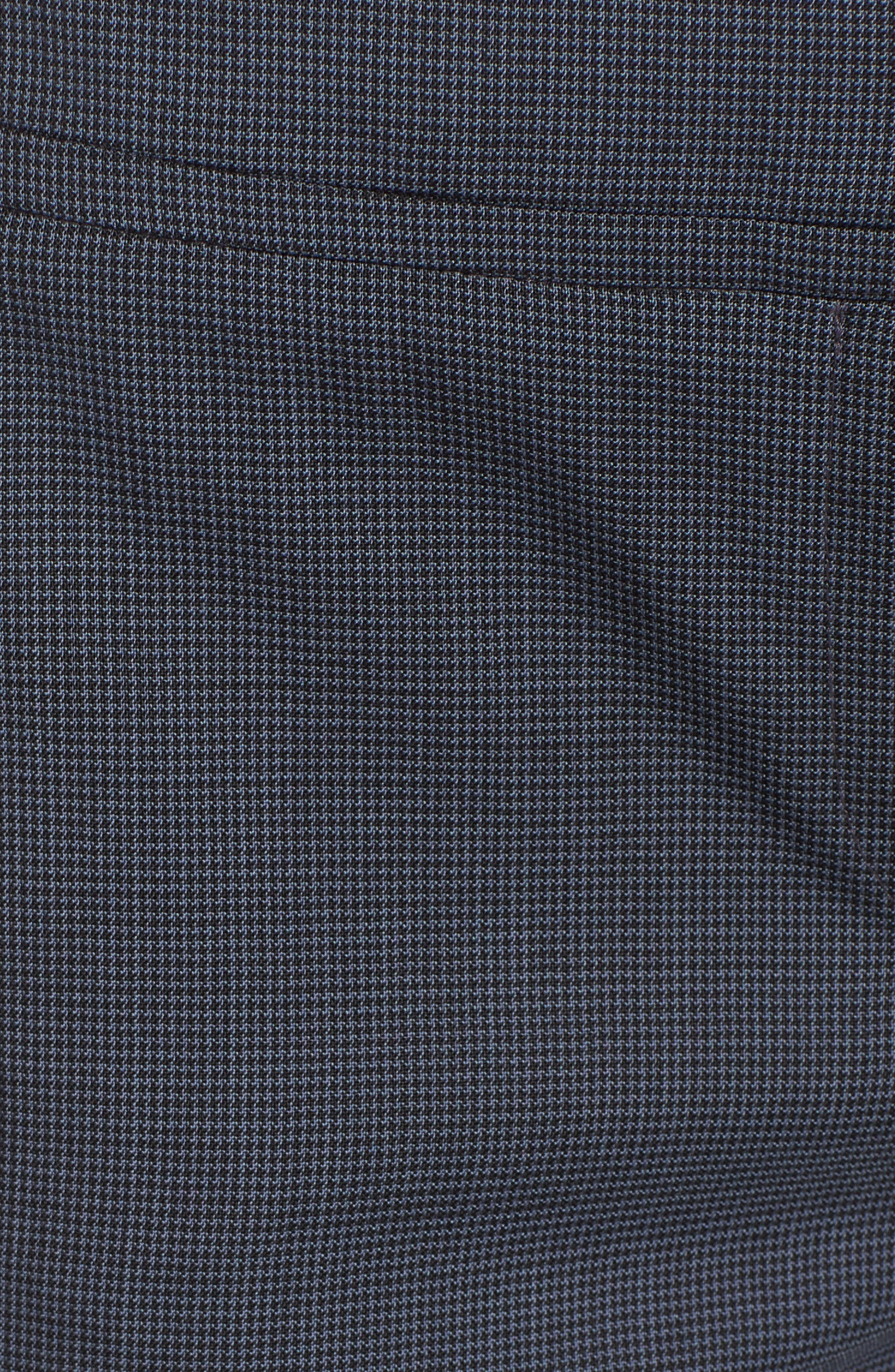 Talouise Pepita Stretch Wool Suit Pants,                             Alternate thumbnail 5, color,                             462