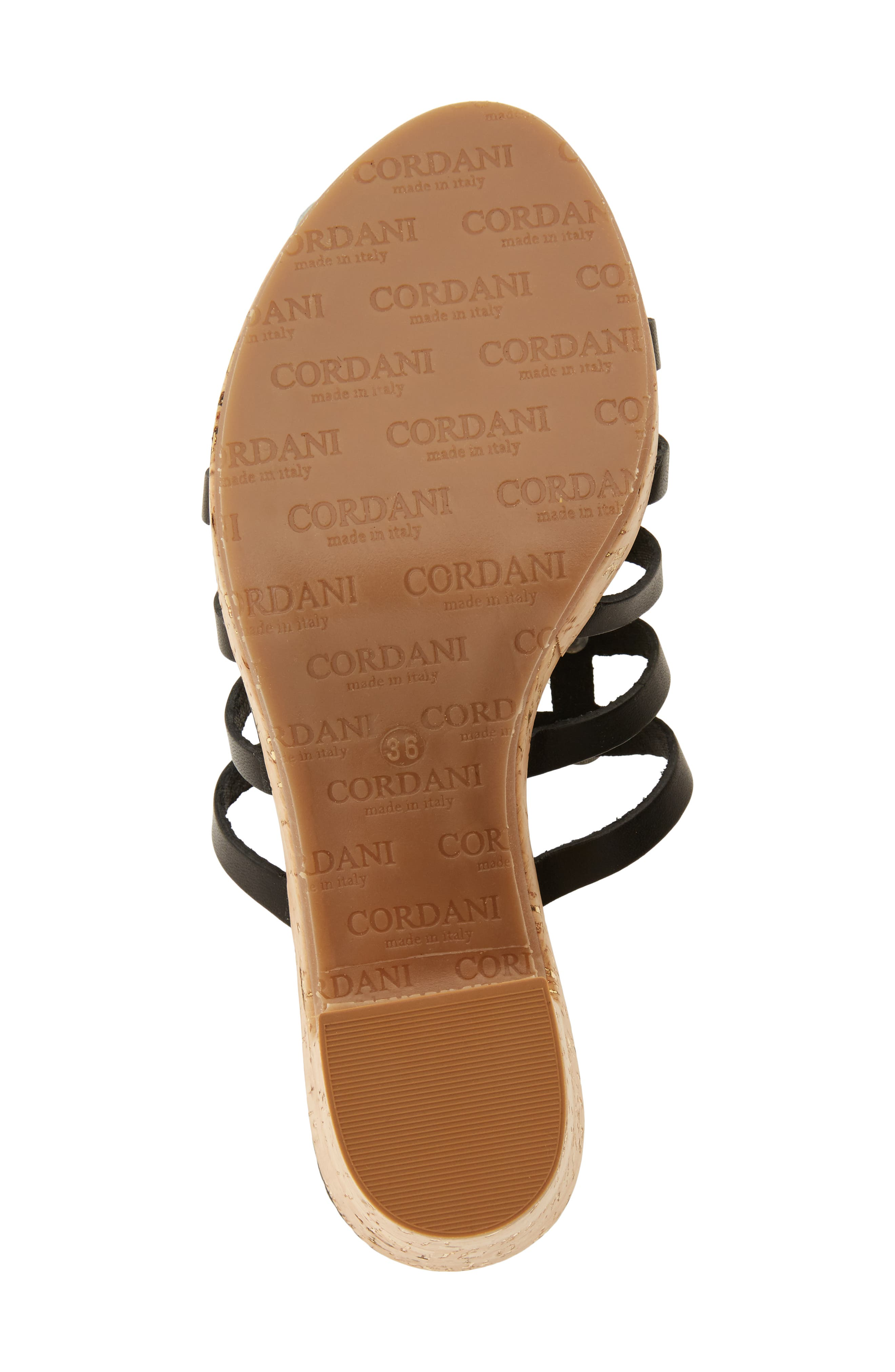 Keane Studded Slide Sandal,                             Alternate thumbnail 6, color,                             BLACK LEATHER