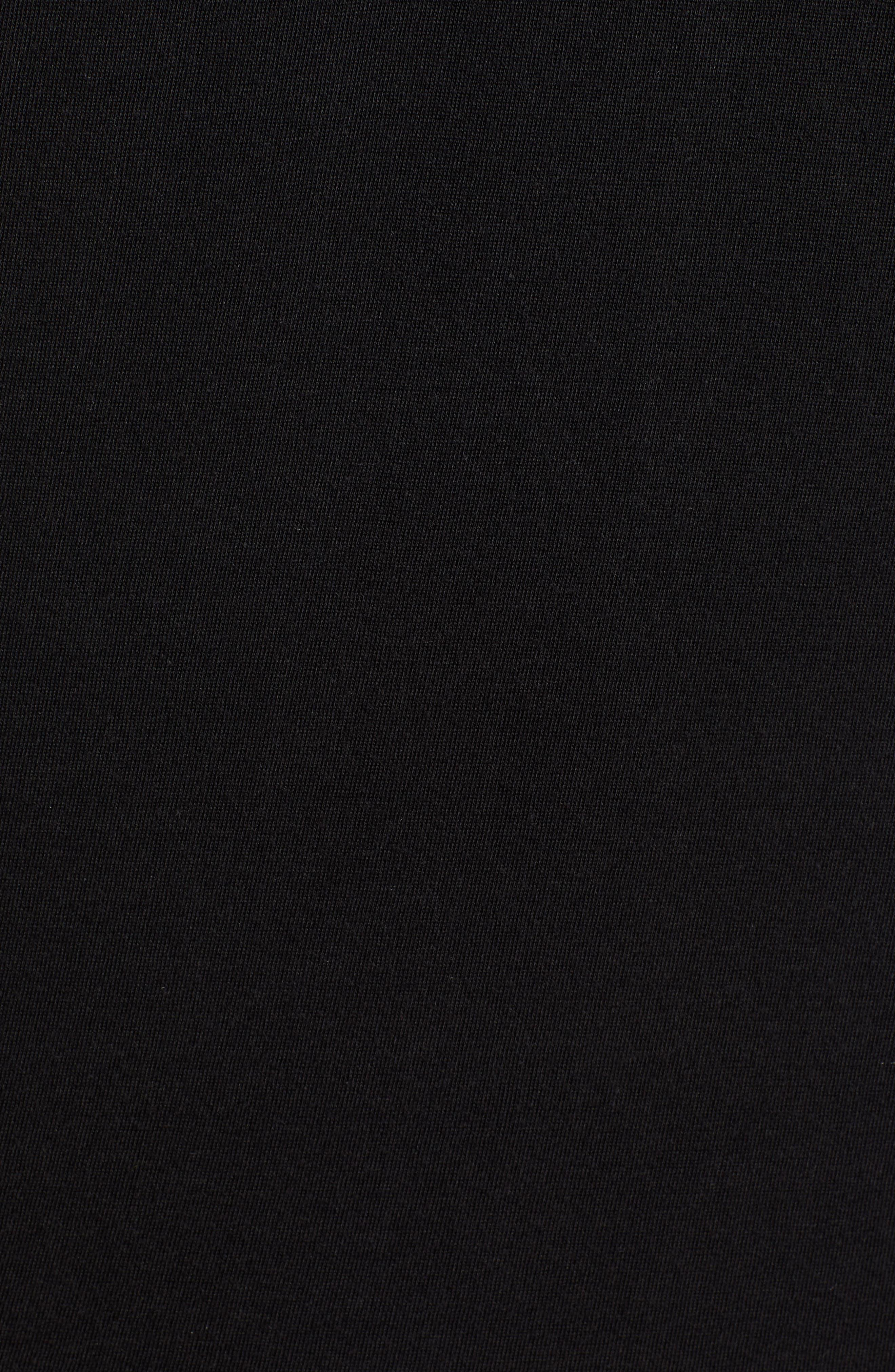 Smoothie Machine Short Sleeve Regular Fit Polo Shirt,                             Alternate thumbnail 5, color,                             BLACK
