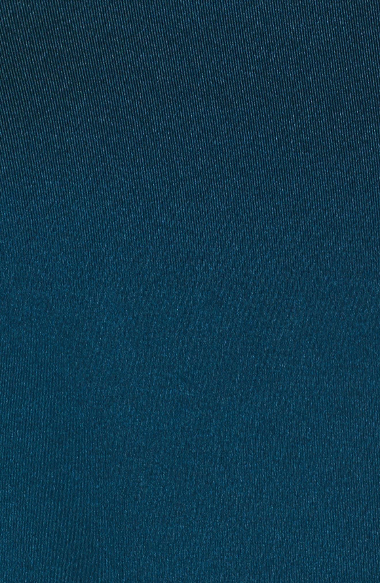 Halter Ruffle Bikini Top,                             Alternate thumbnail 5, color,                             445
