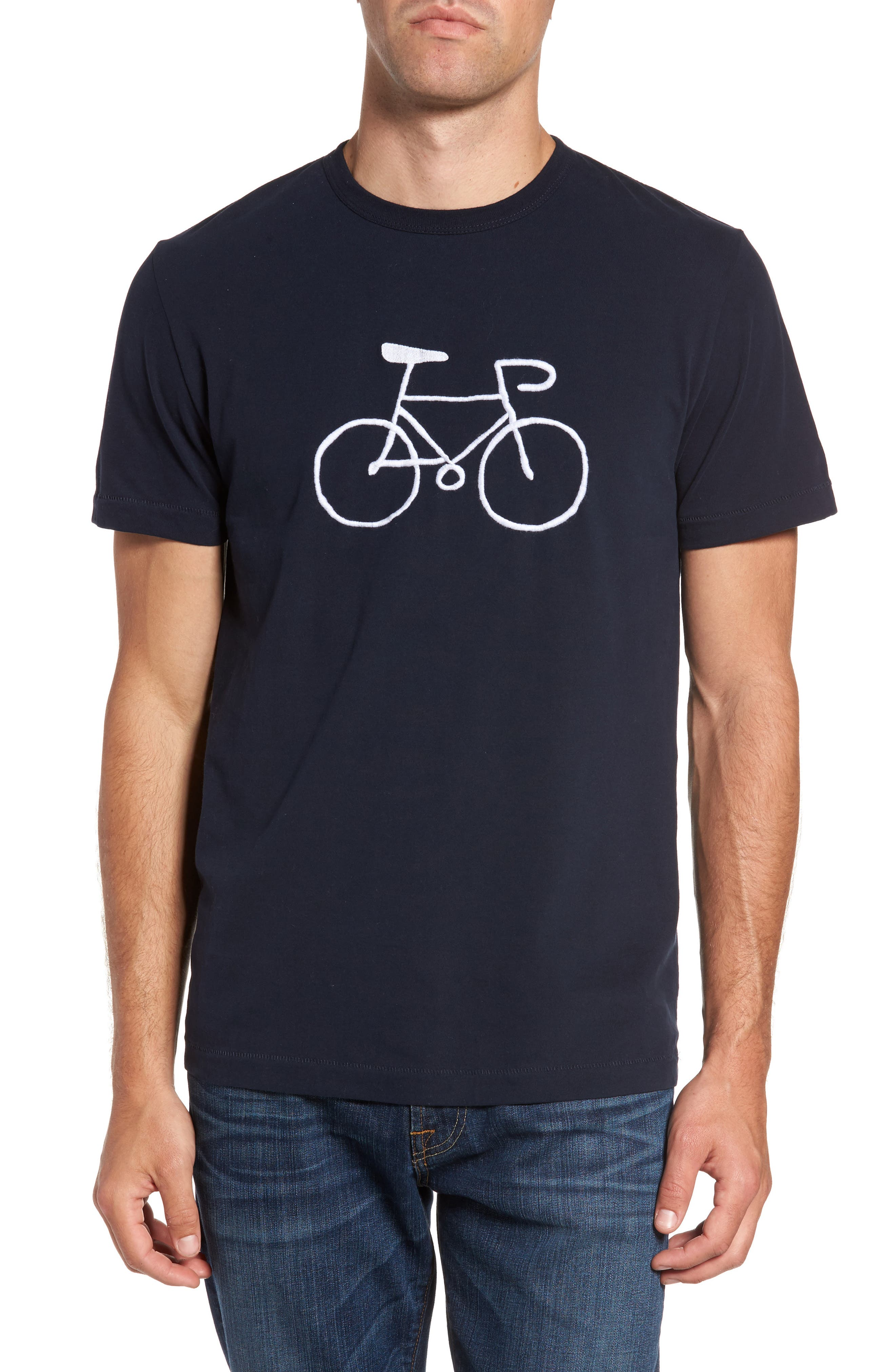 Bike Regular Fit T-Shirt,                         Main,                         color, 404