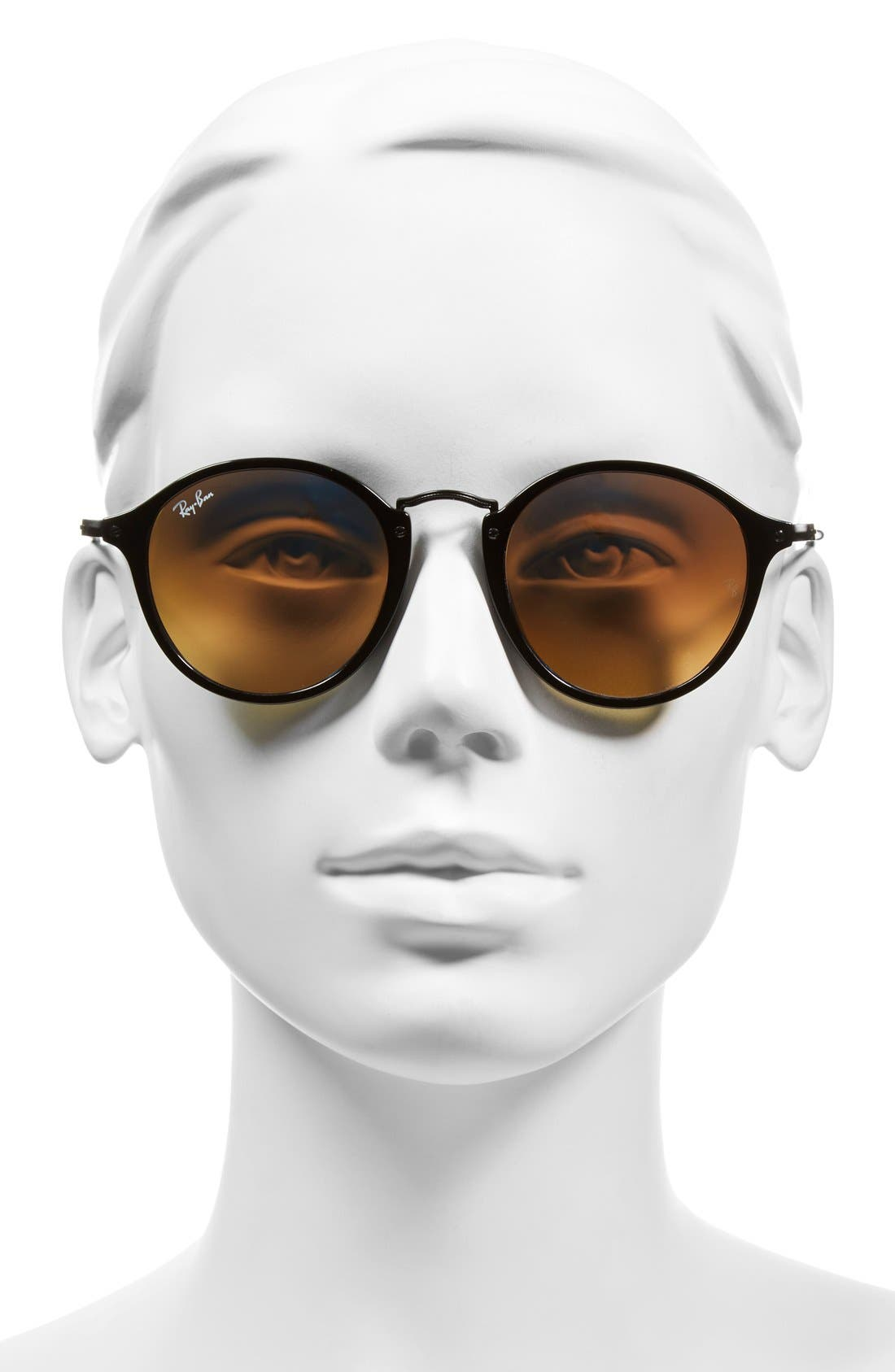Icons 49mm Round Sunglasses,                             Alternate thumbnail 2, color,                             014