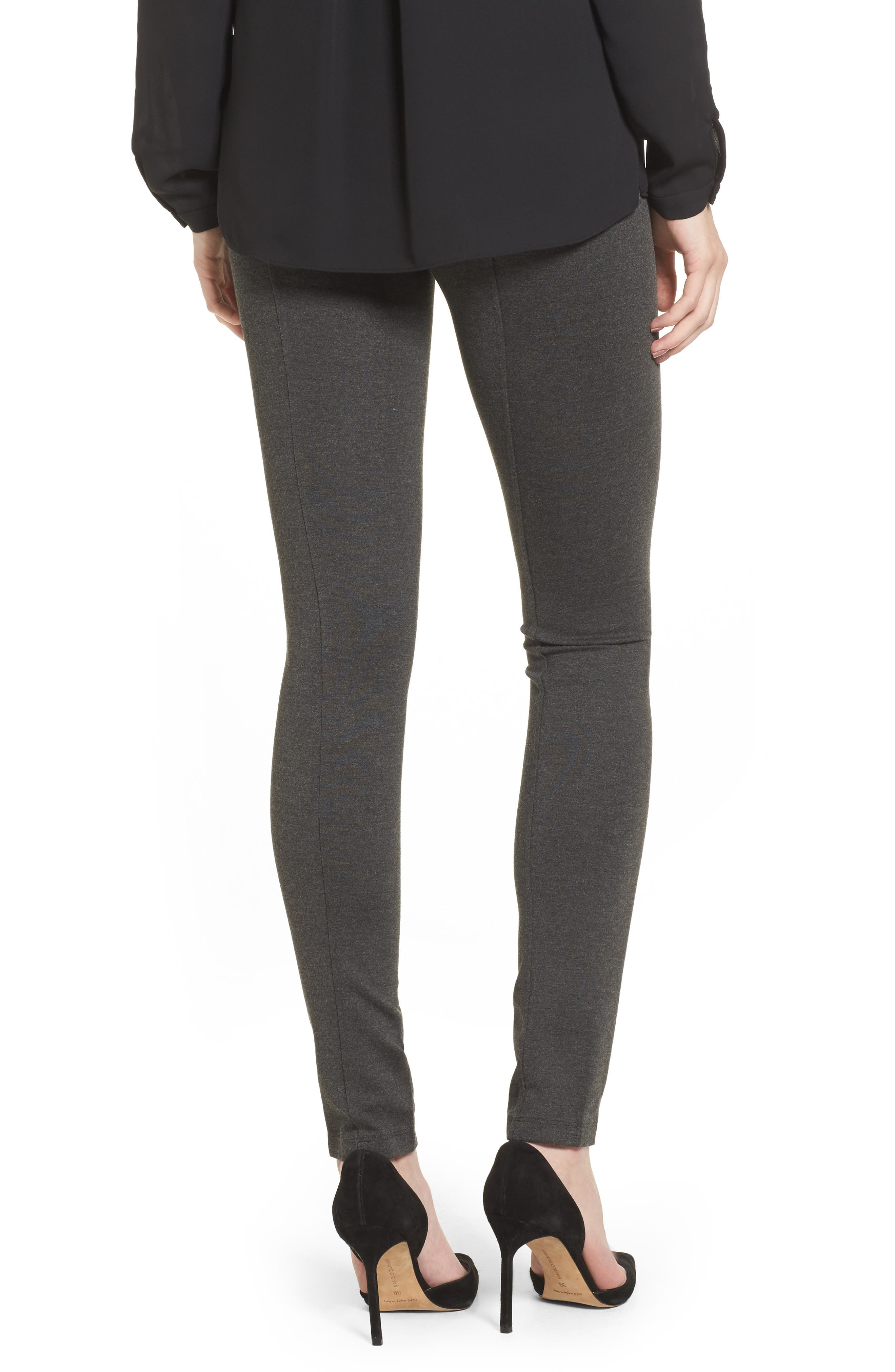 Ponte Leggings,                             Alternate thumbnail 2, color,                             090